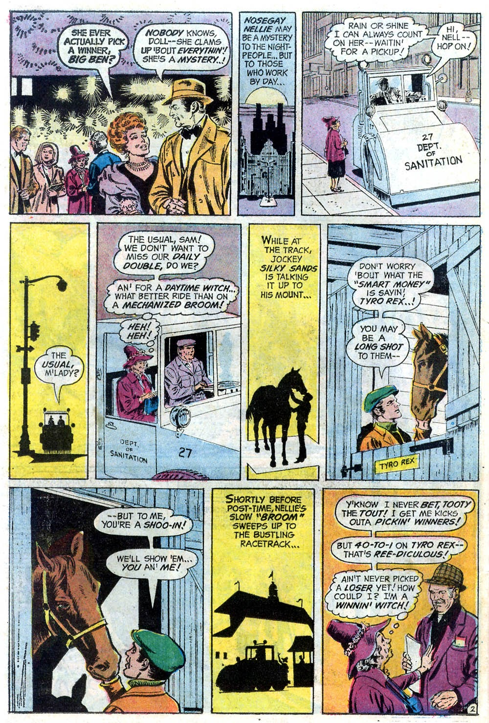 Read online Strange Sports Stories (1973) comic -  Issue #2 - 17