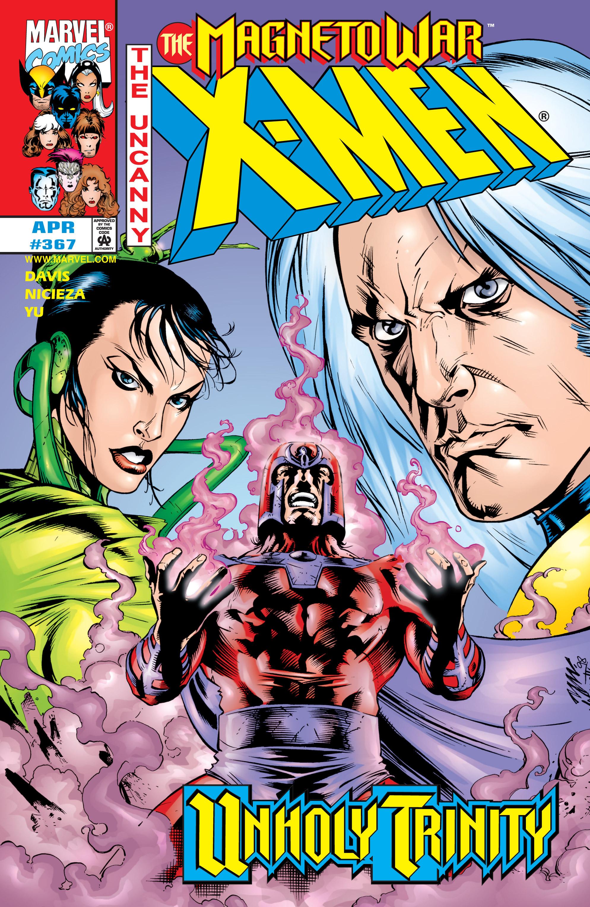 Uncanny X-Men (1963) 367 Page 1