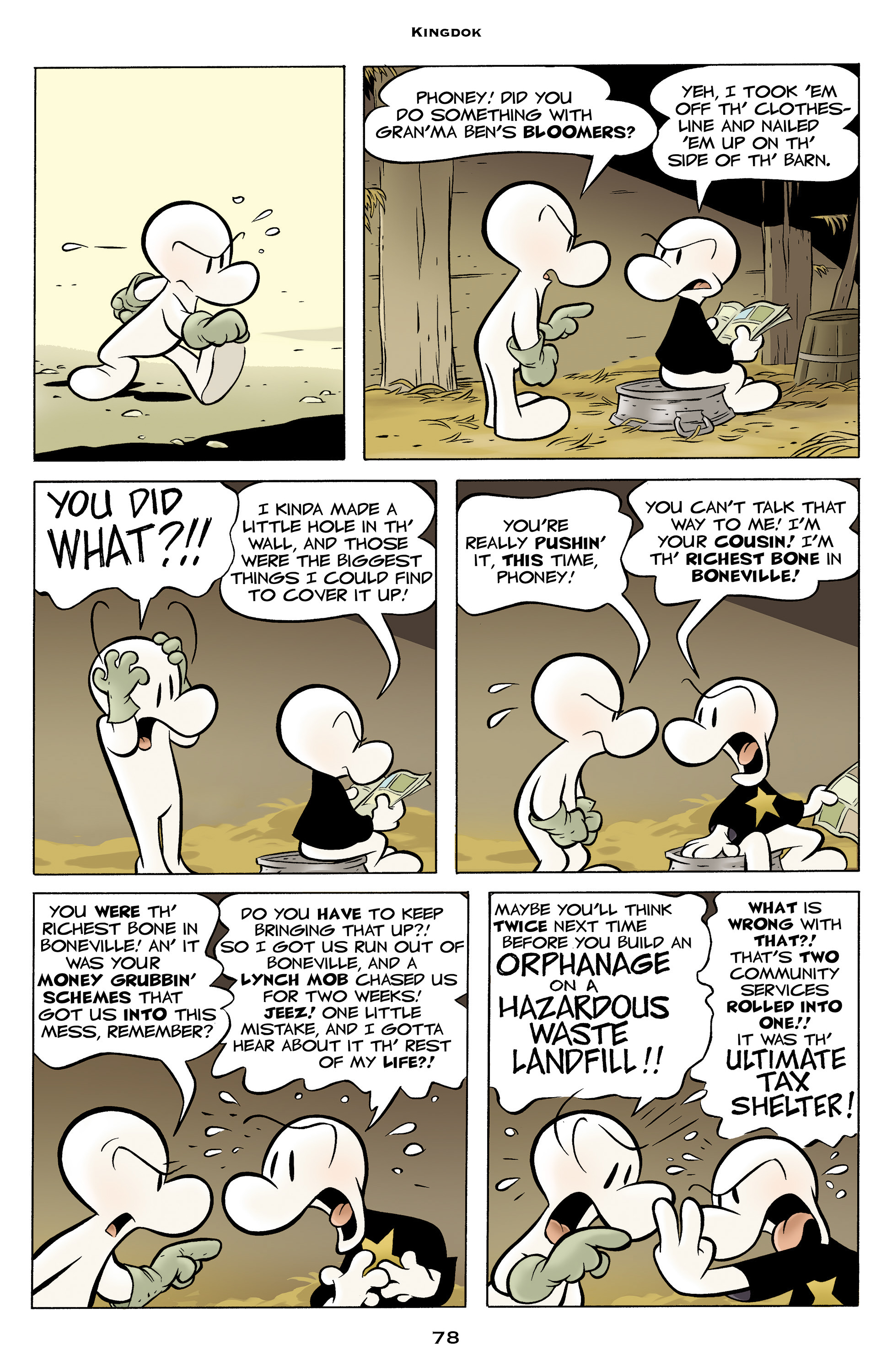 Read online Bone: Out From Boneville comic -  Issue # TPB - 78