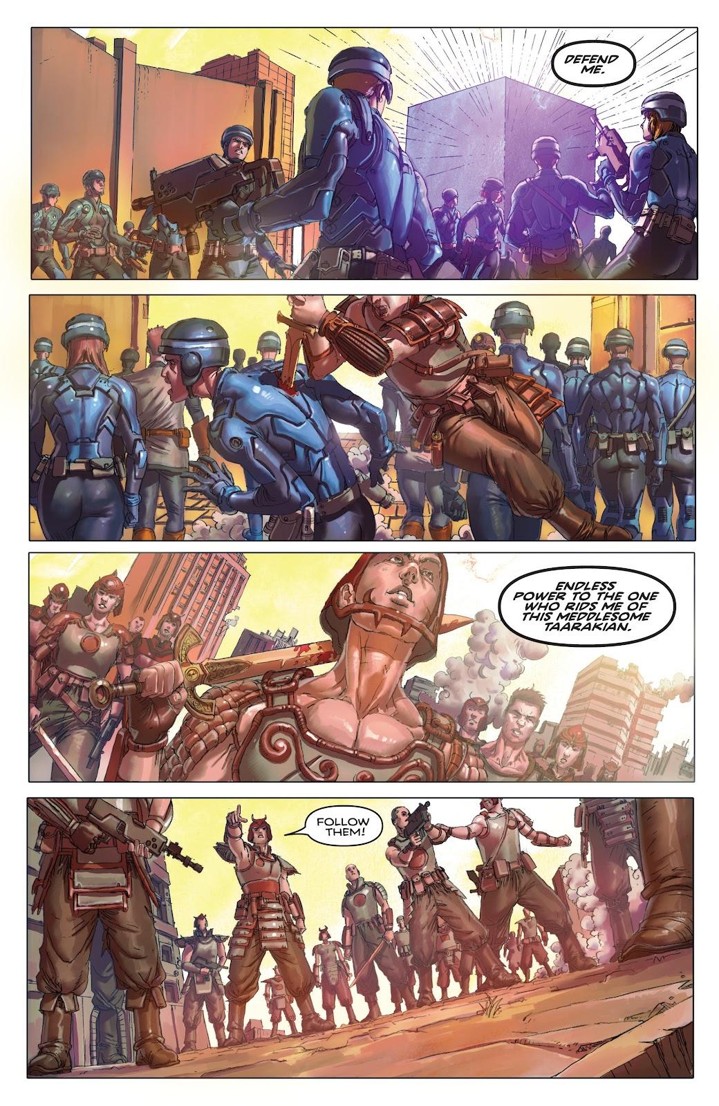 Read online Taarna comic -  Issue #4 - 12
