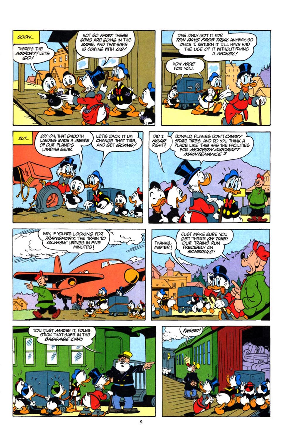Read online Uncle Scrooge (1953) comic -  Issue #247 - 10