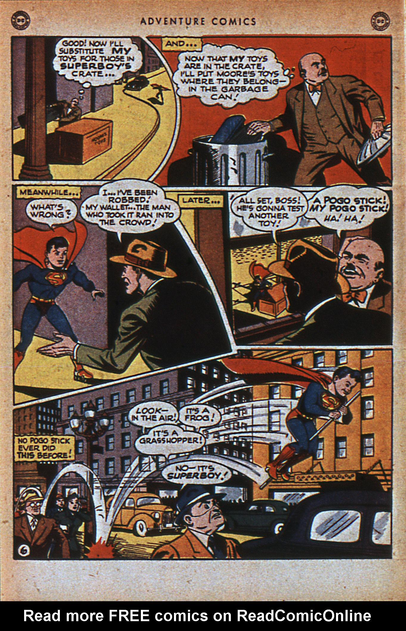 Read online Adventure Comics (1938) comic -  Issue #116 - 9