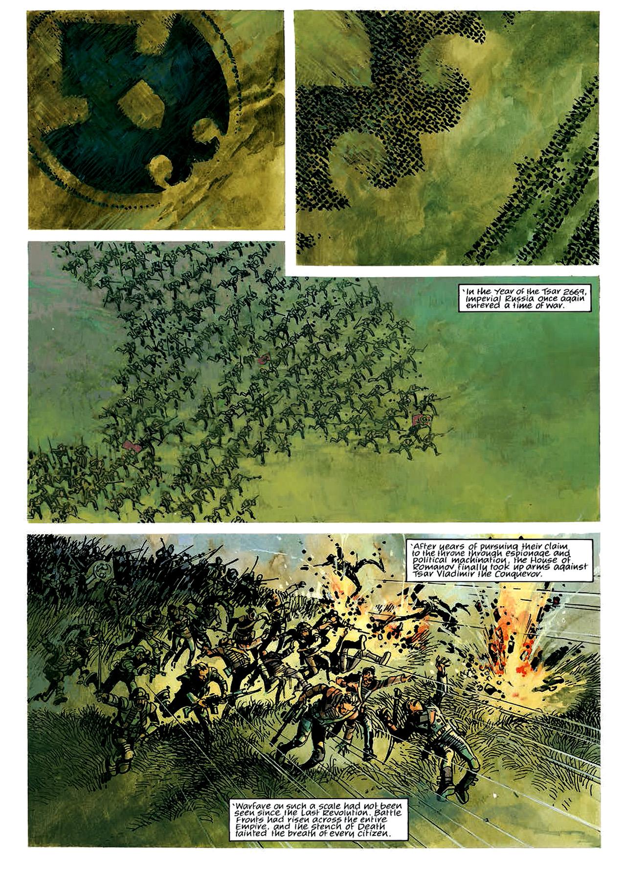 Read online Nikolai Dante comic -  Issue # TPB 4 - 6