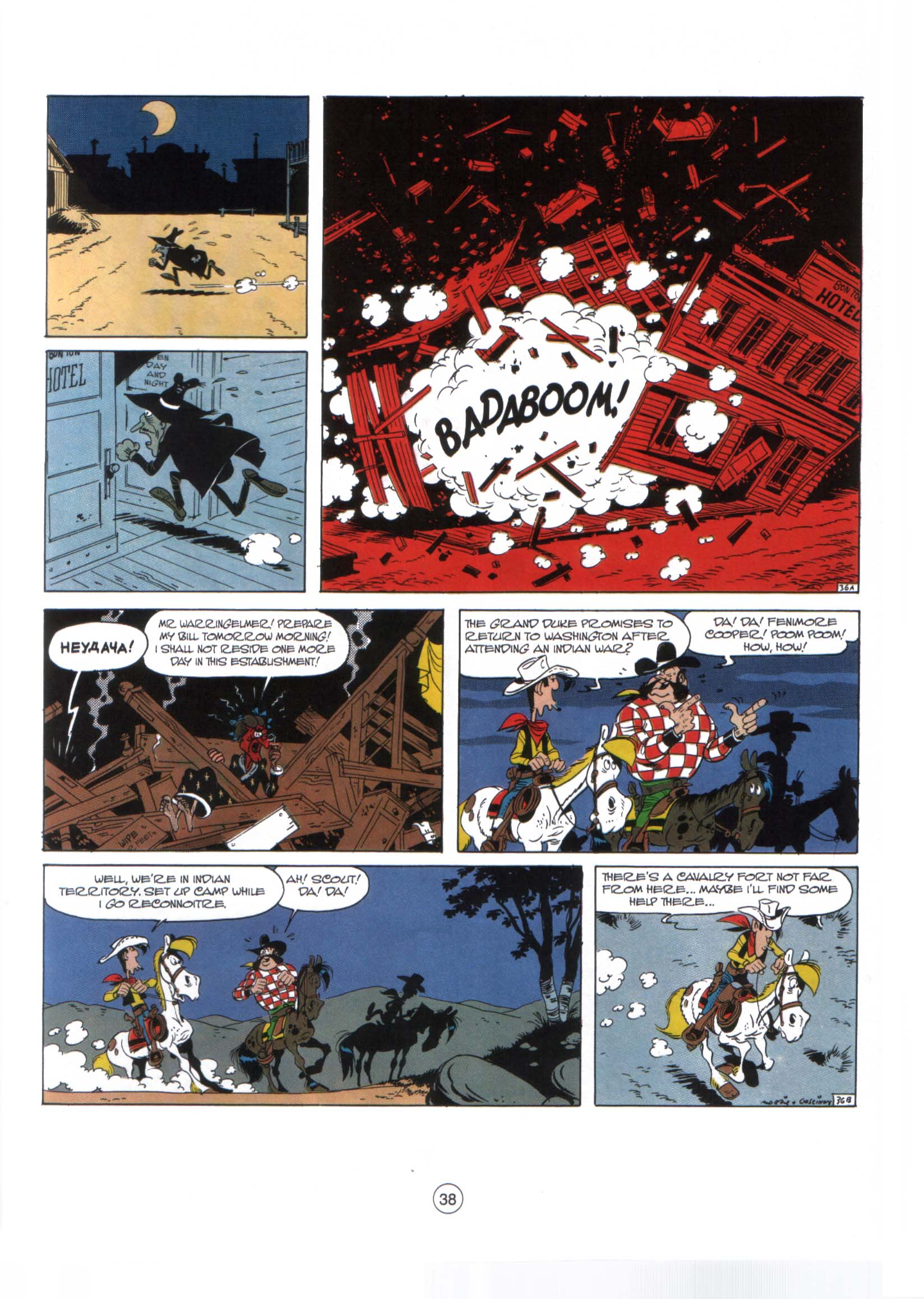 Read online A Lucky Luke Adventure comic -  Issue #29 - 37