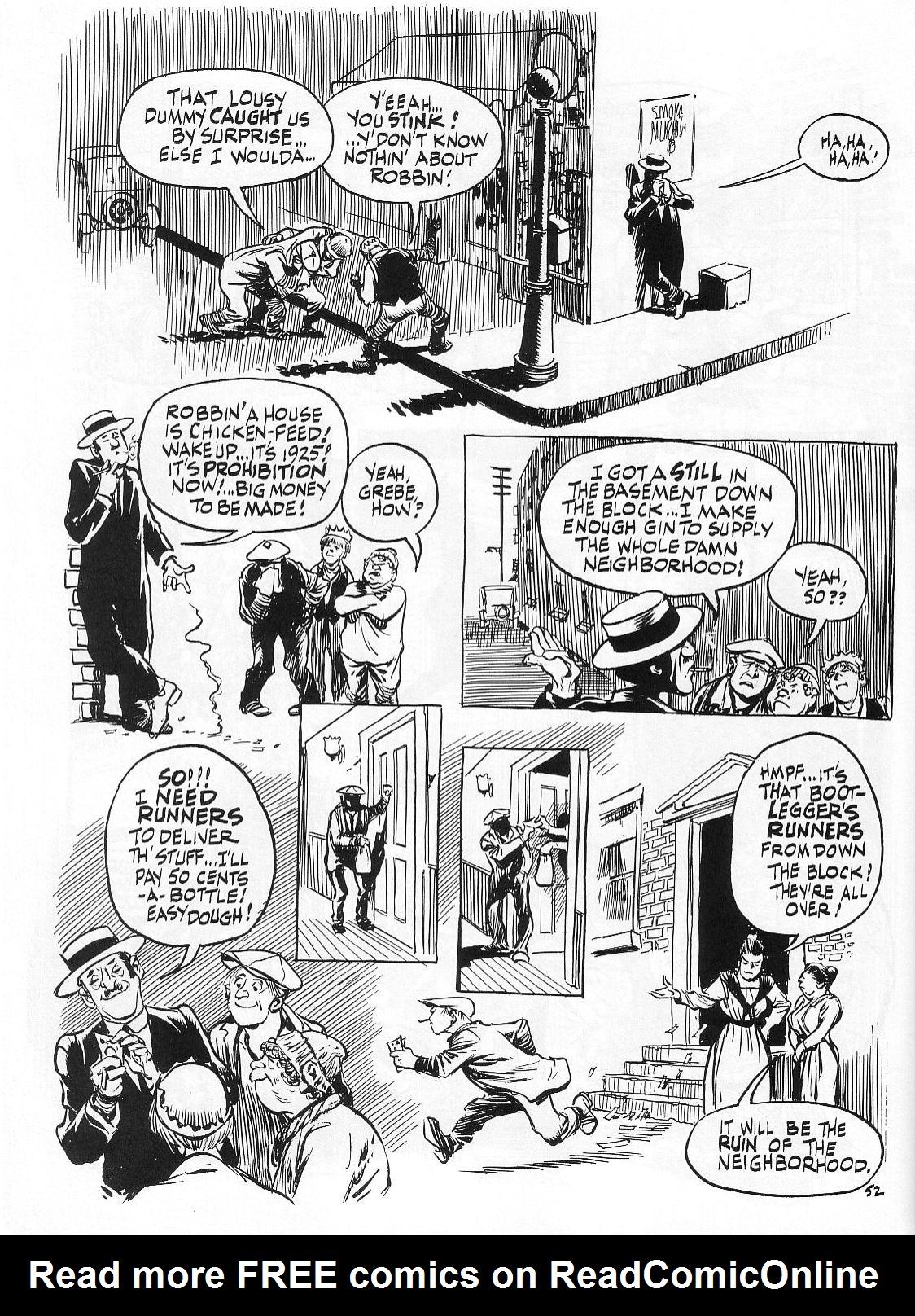 Read online Dropsie Avenue, The Neighborhood comic -  Issue # Full - 54