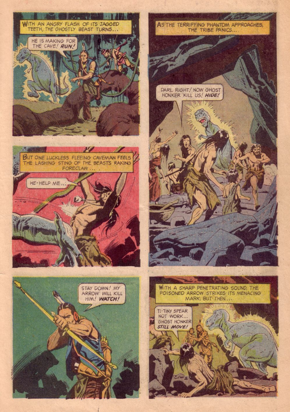 Read online Turok, Son of Stone comic -  Issue #41 - 7