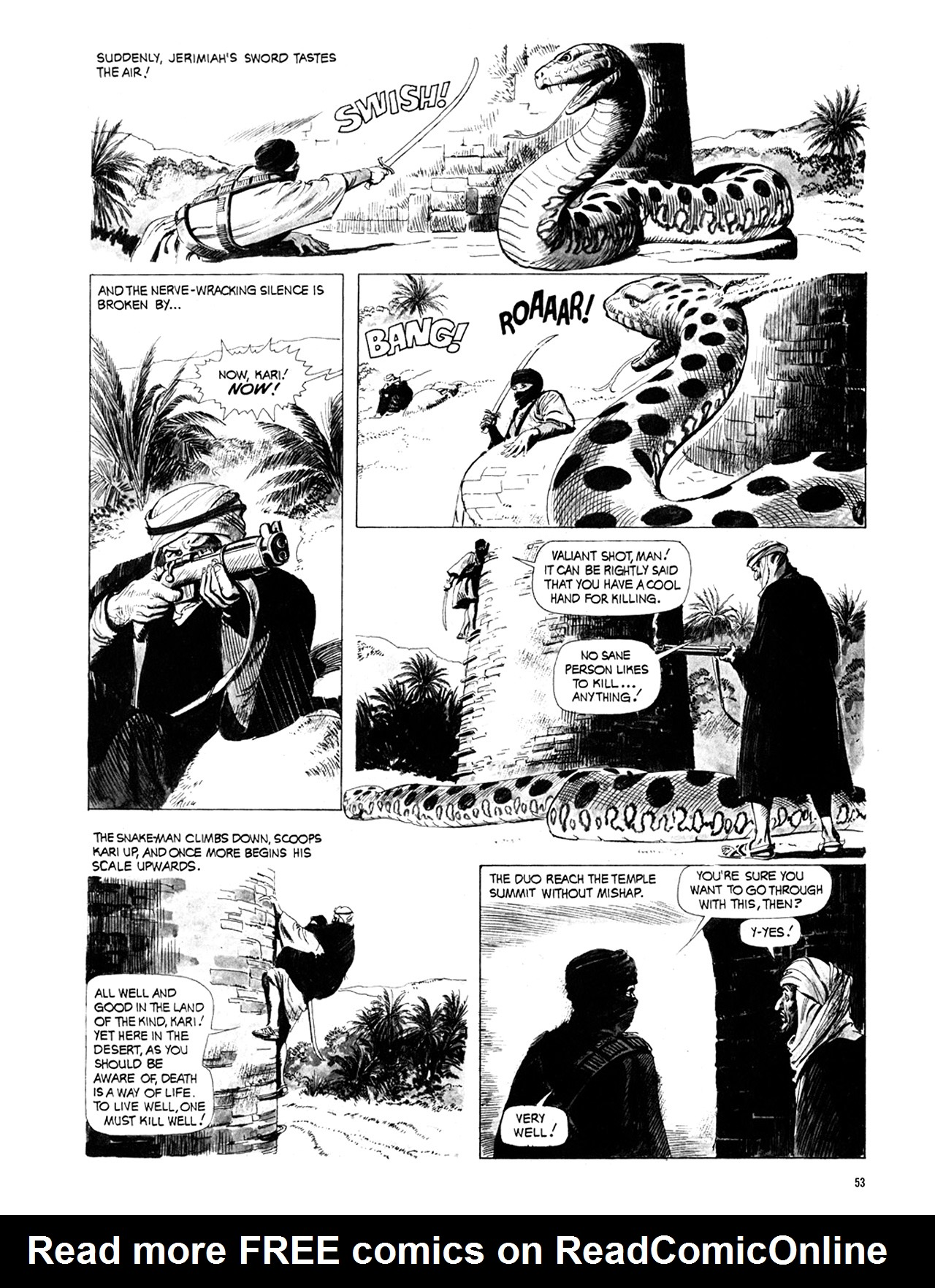 Read online Eerie Archives comic -  Issue # TPB 10 - 54