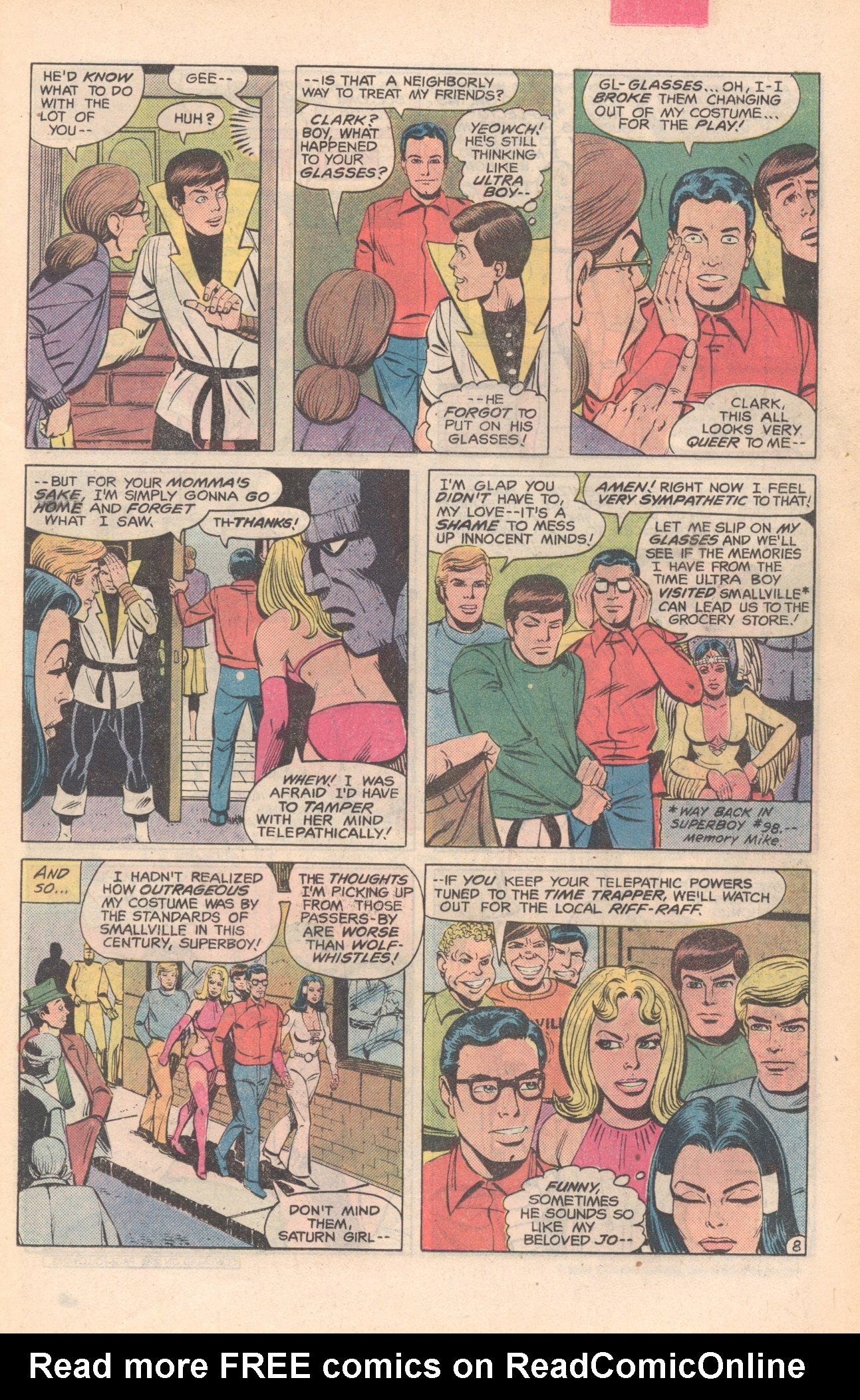 Legion of Super-Heroes (1980) 281 Page 8