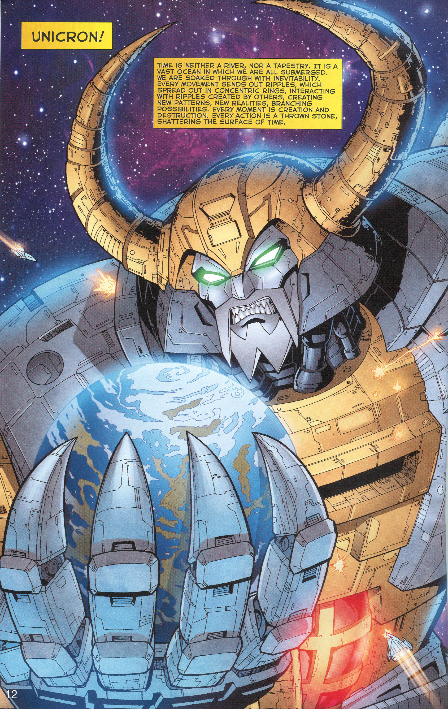 Read online Transformers: Collectors' Club comic -  Issue #1 - 12
