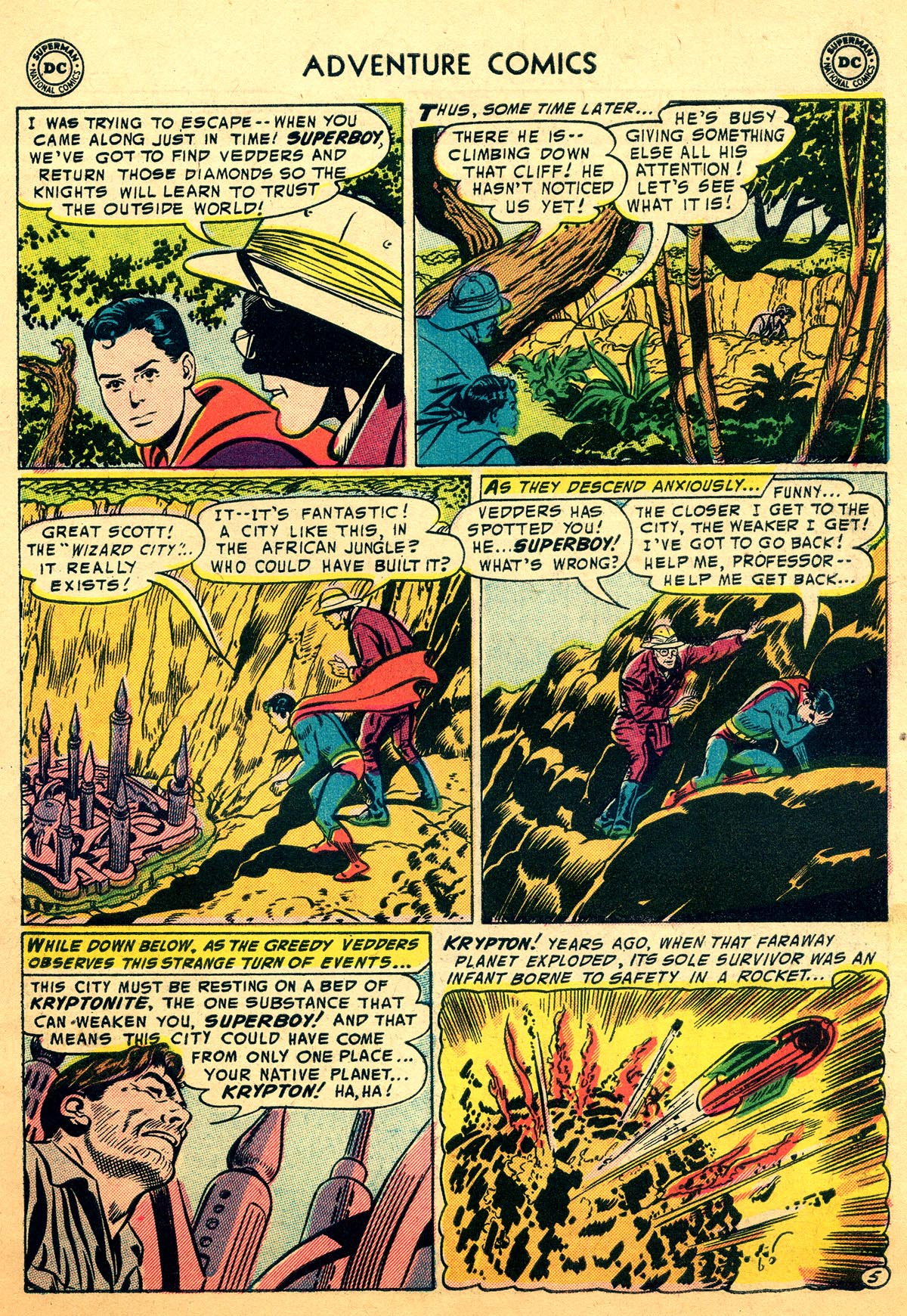 Read online Adventure Comics (1938) comic -  Issue #216 - 7
