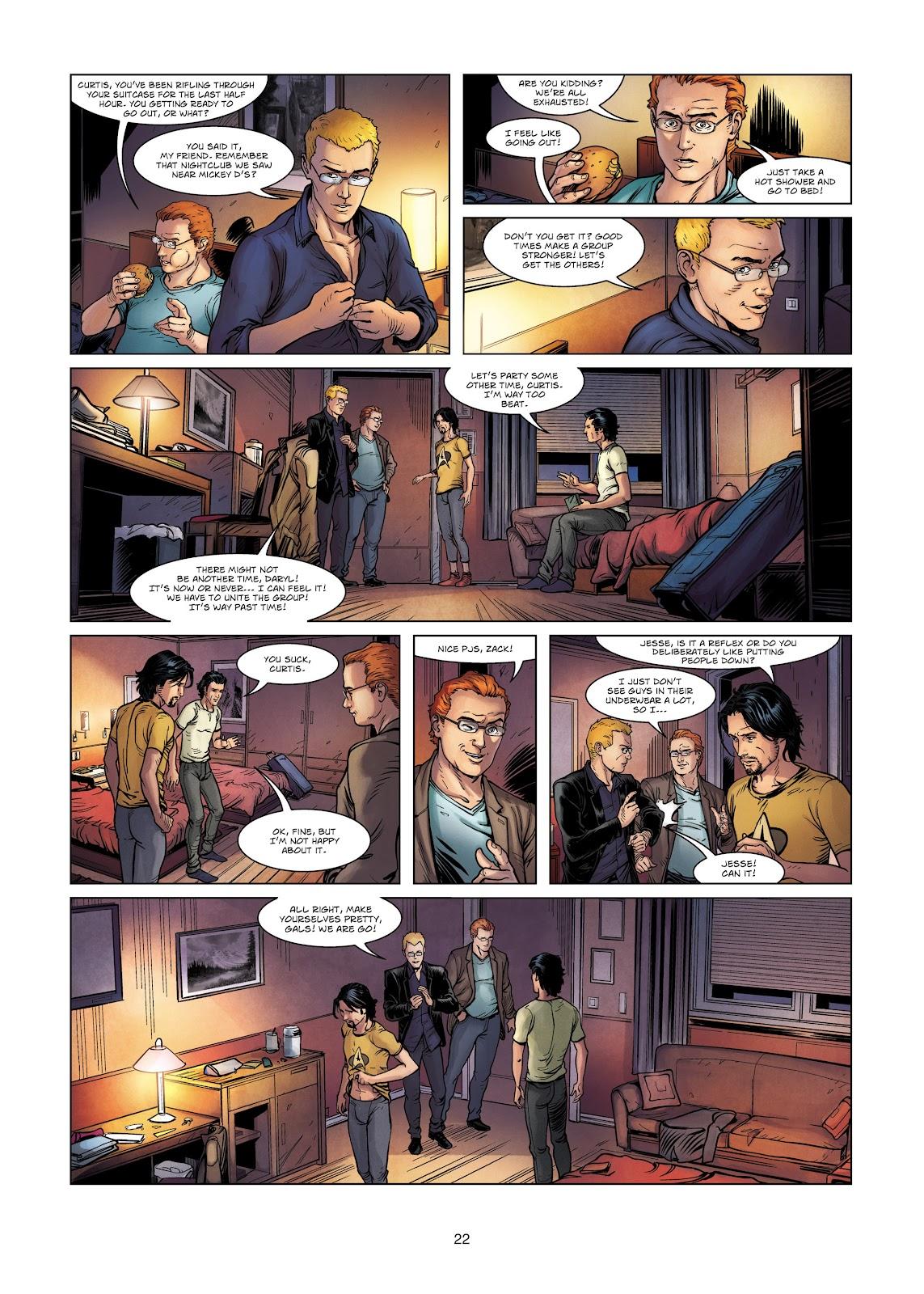 Read online Vigilantes comic -  Issue #2 - 22