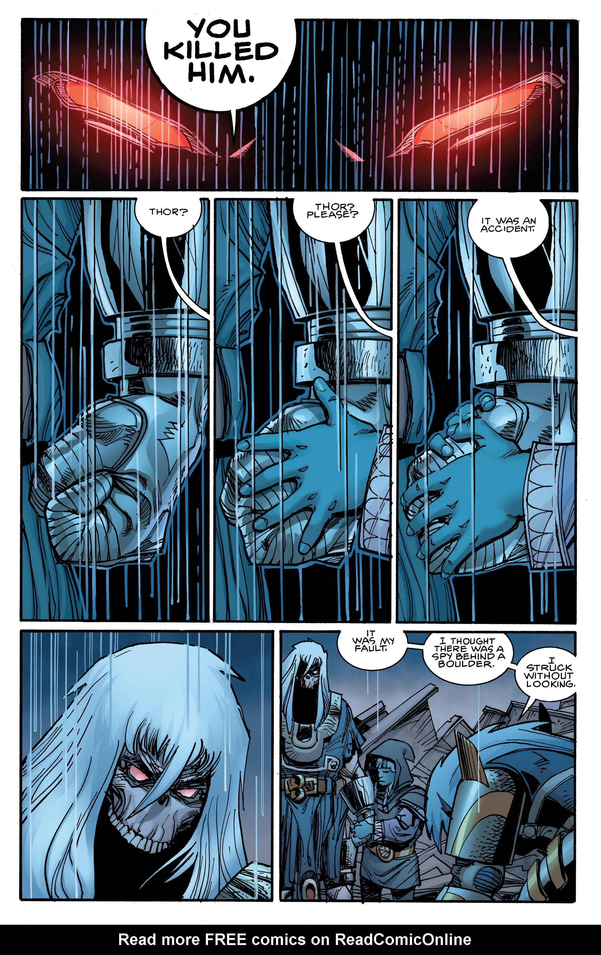 Read online Ragnarok comic -  Issue #9 - 16