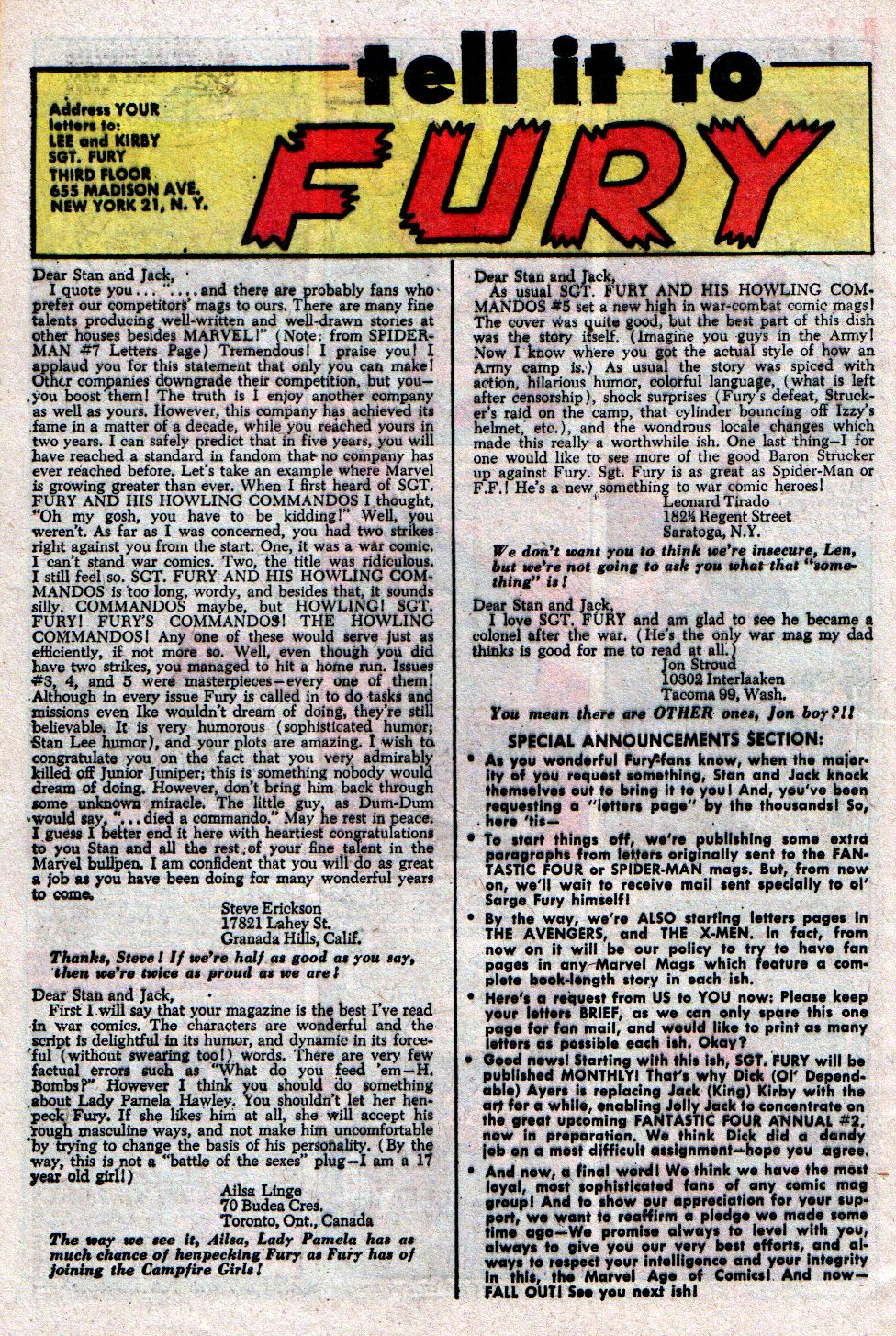 Read online Sgt. Fury comic -  Issue #8 - 32