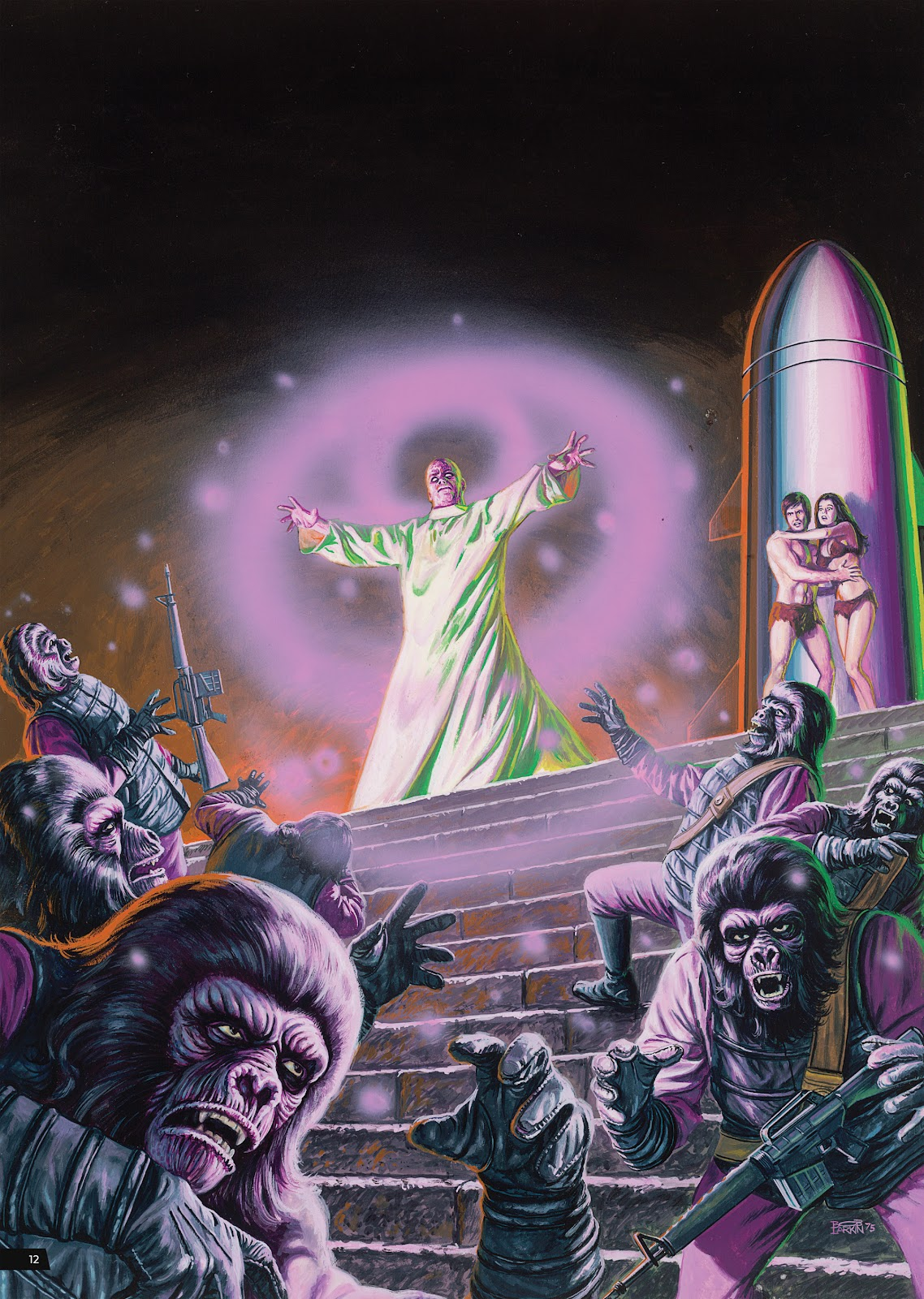 Read online Planet of the Apes Artist Tribute comic -  Issue # TPB - 12