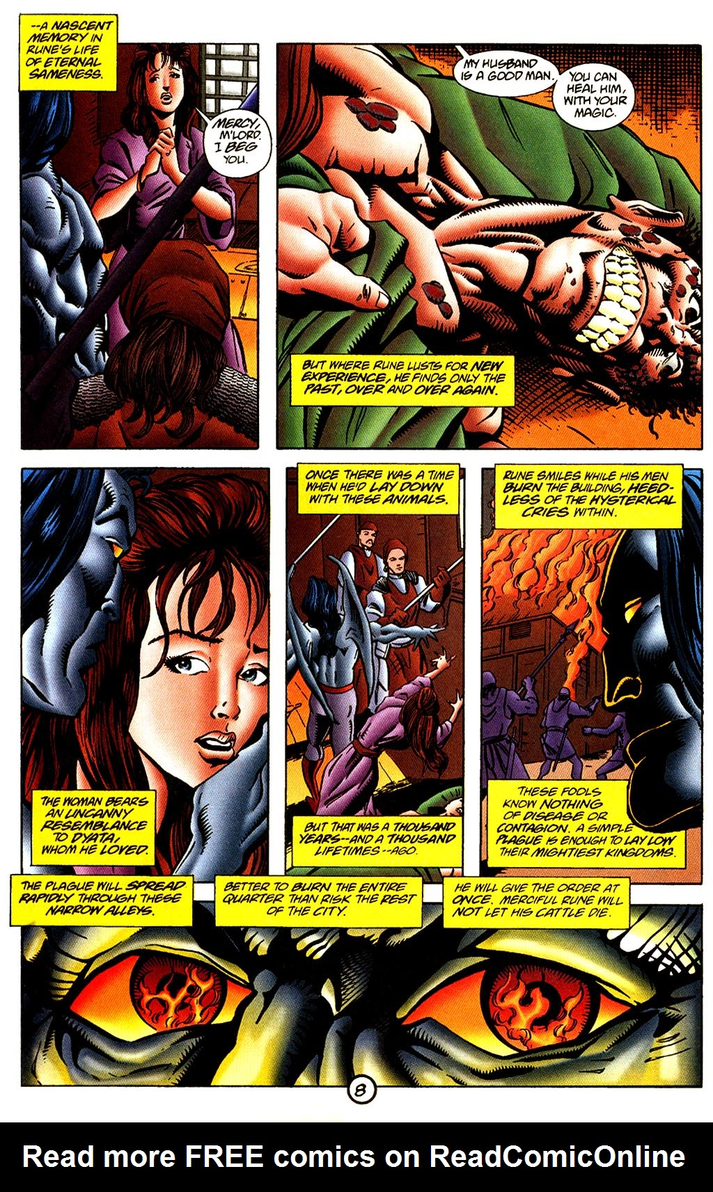 Read online Rune (1995) comic -  Issue #4 - 9