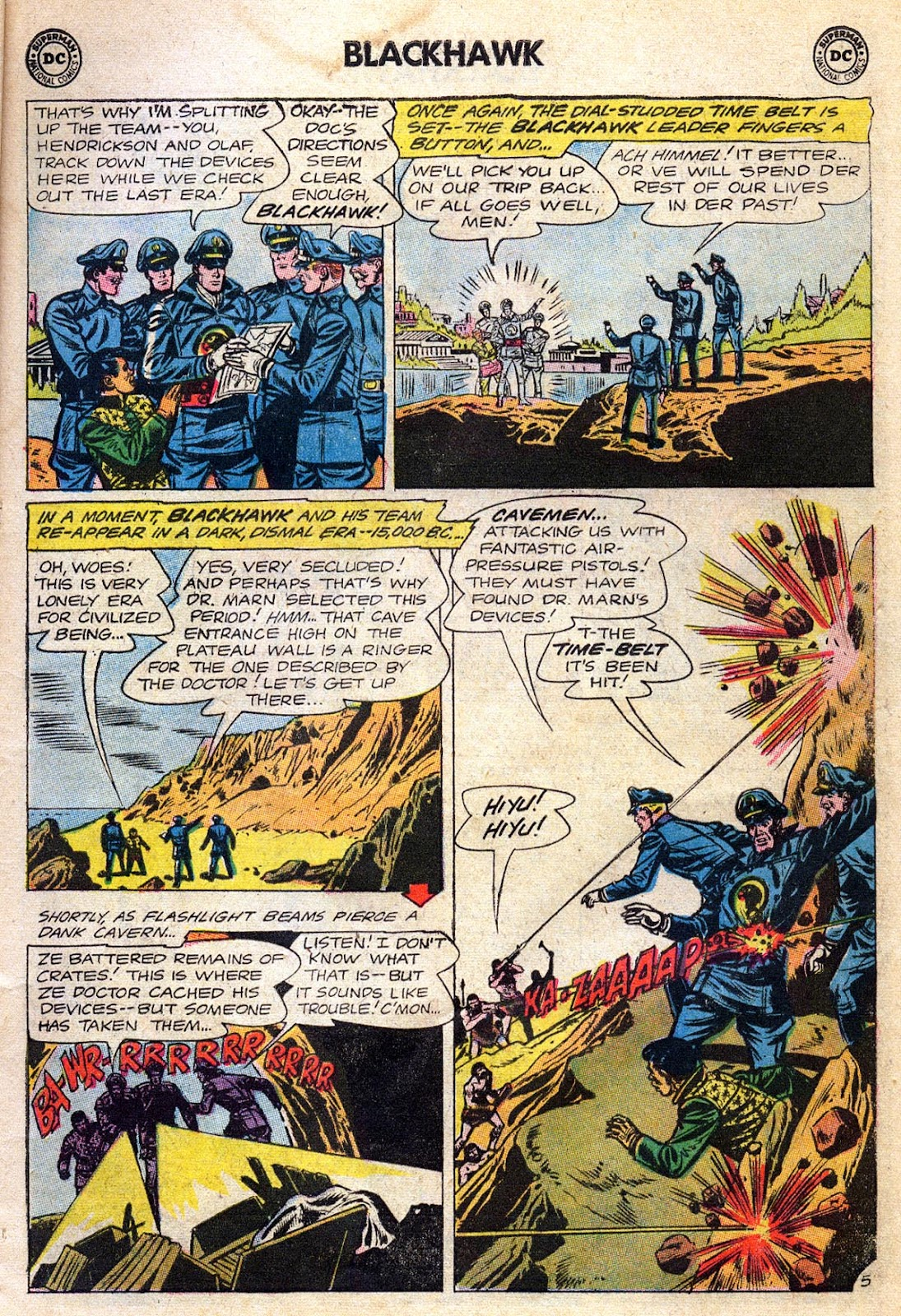 Blackhawk (1957) Issue #189 #82 - English 7
