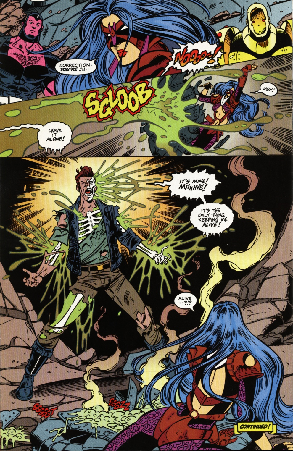 Read online Superboy & The Ravers comic -  Issue #2 - 23