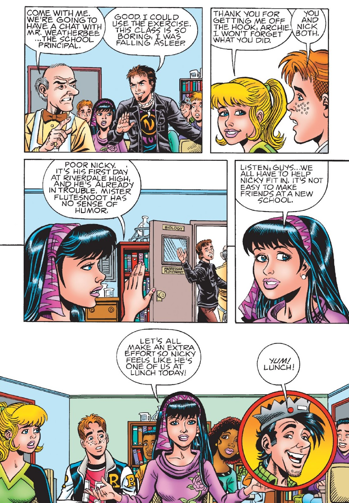 Read online Archie's New Look Series comic -  Issue #1 - 37