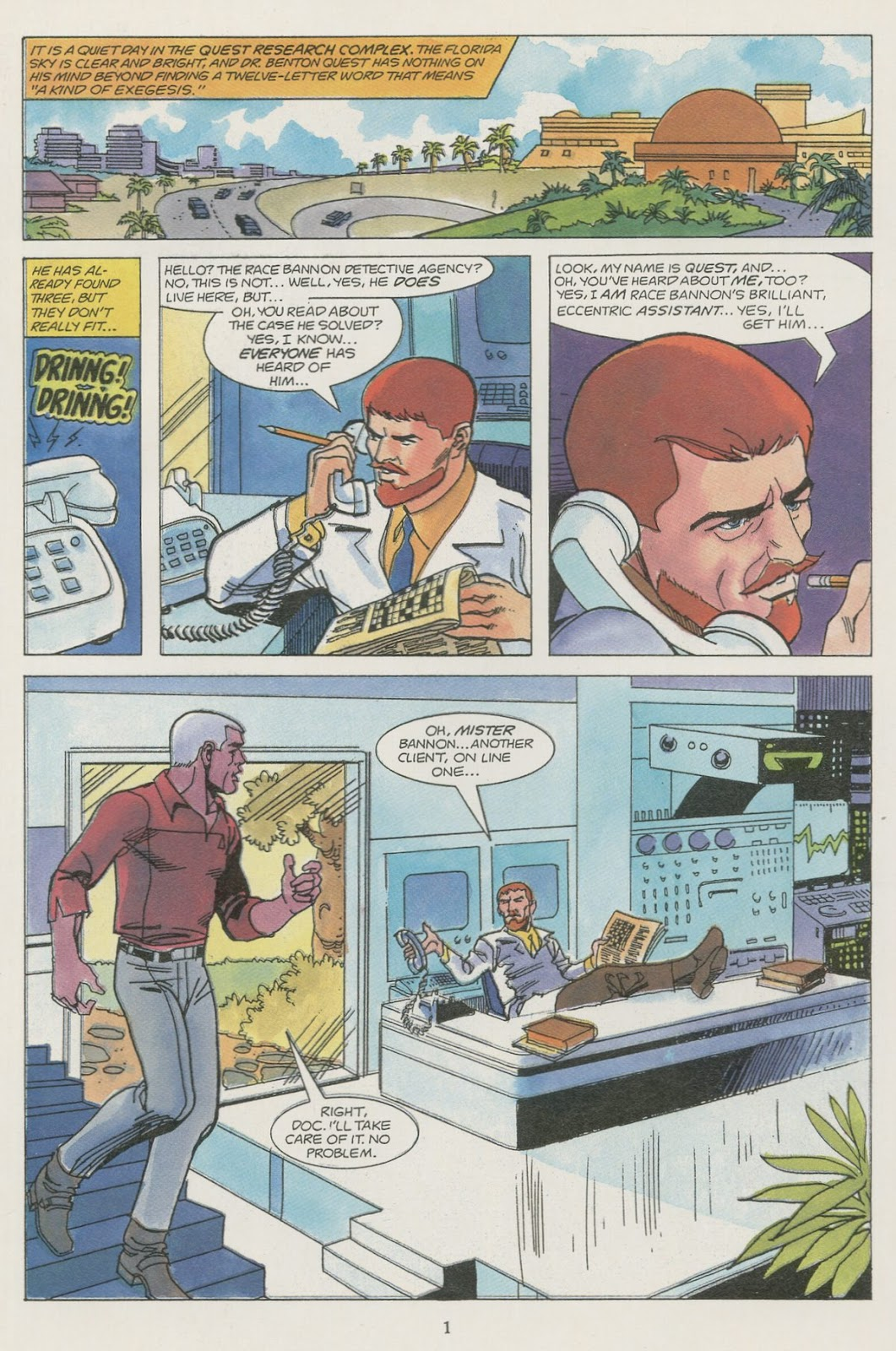 Jonny Quest (1986) issue 19 - Page 3