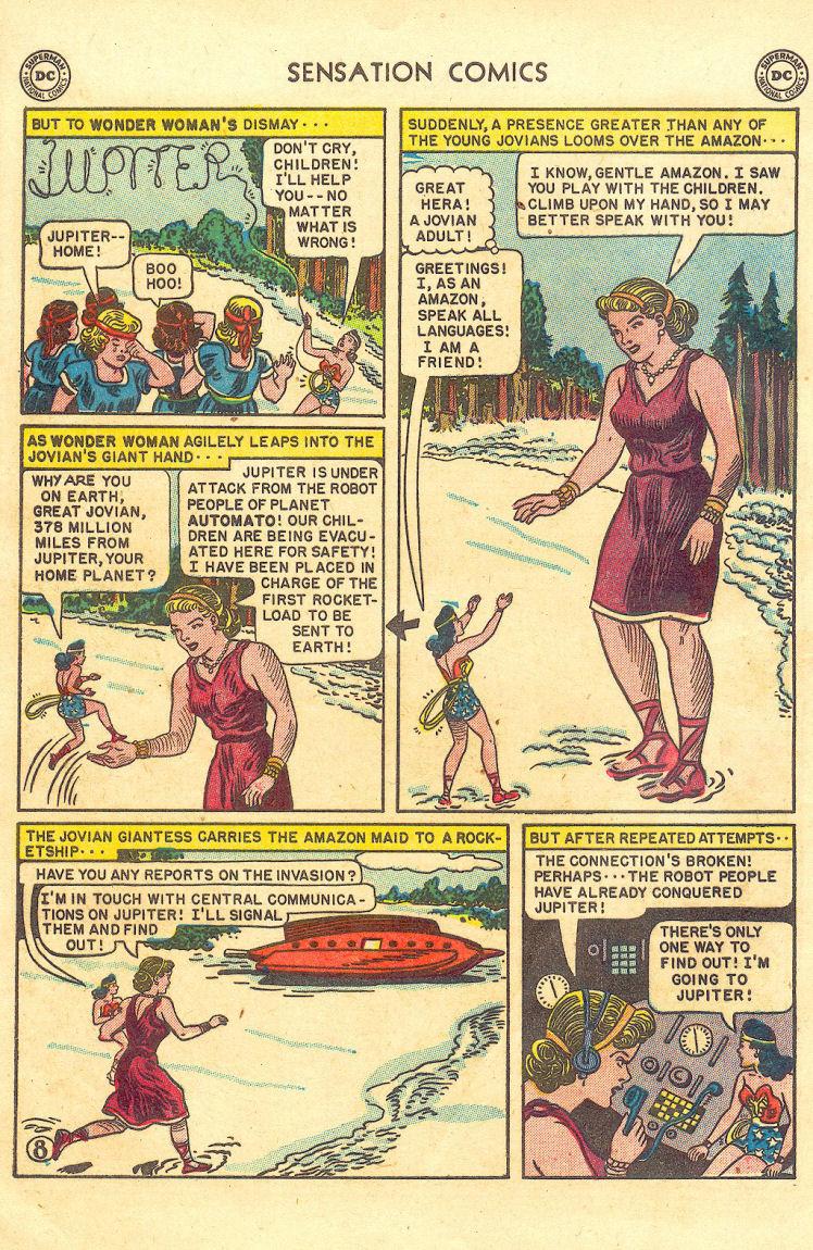 Read online Sensation (Mystery) Comics comic -  Issue #105 - 10