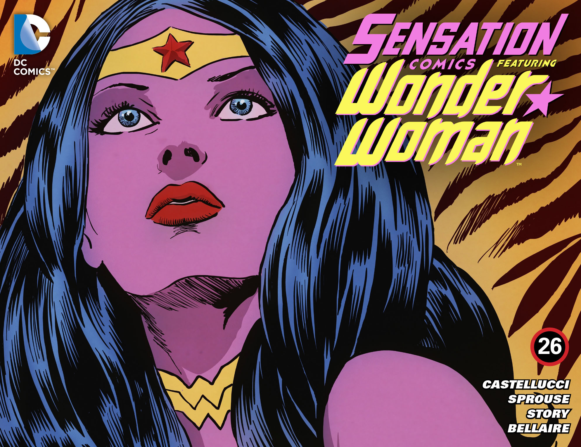 Read online Sensation Comics Featuring Wonder Woman comic -  Issue #26 - 1