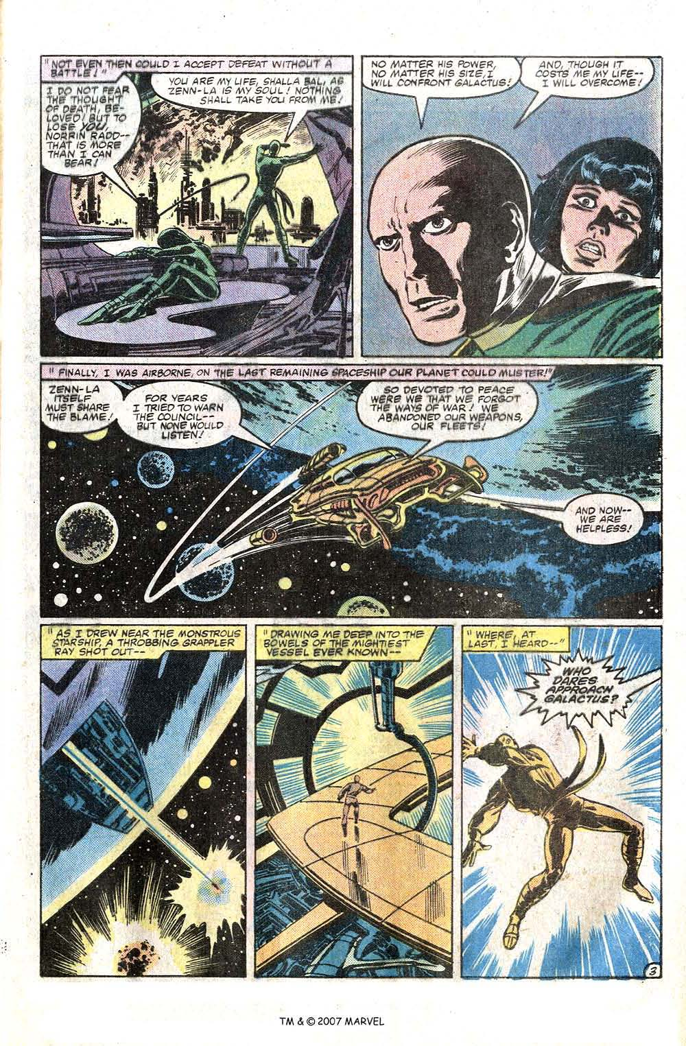 Read online Silver Surfer (1982) comic -  Issue # Full - 5