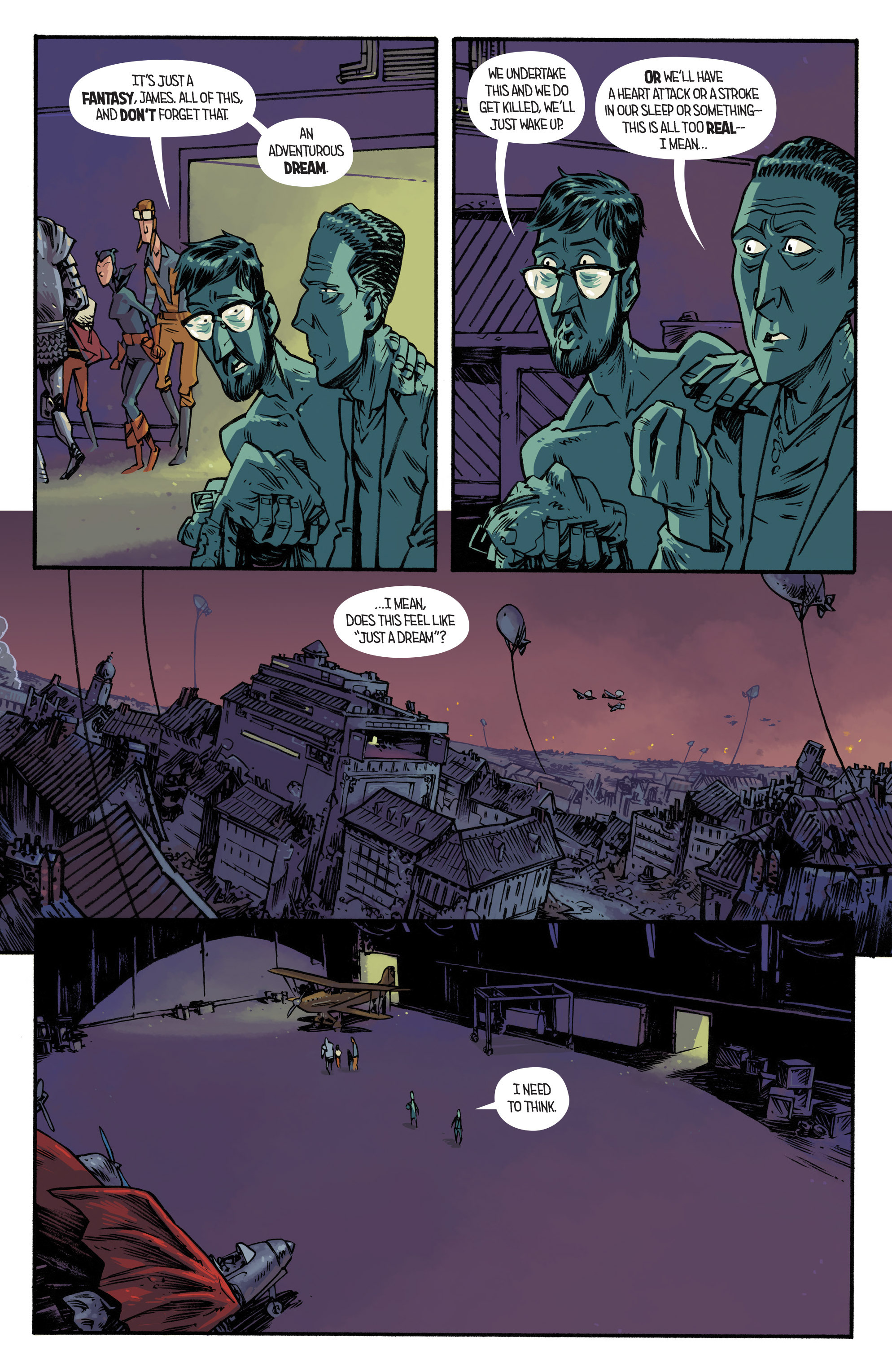 Read online Airboy comic -  Issue #4 - 6