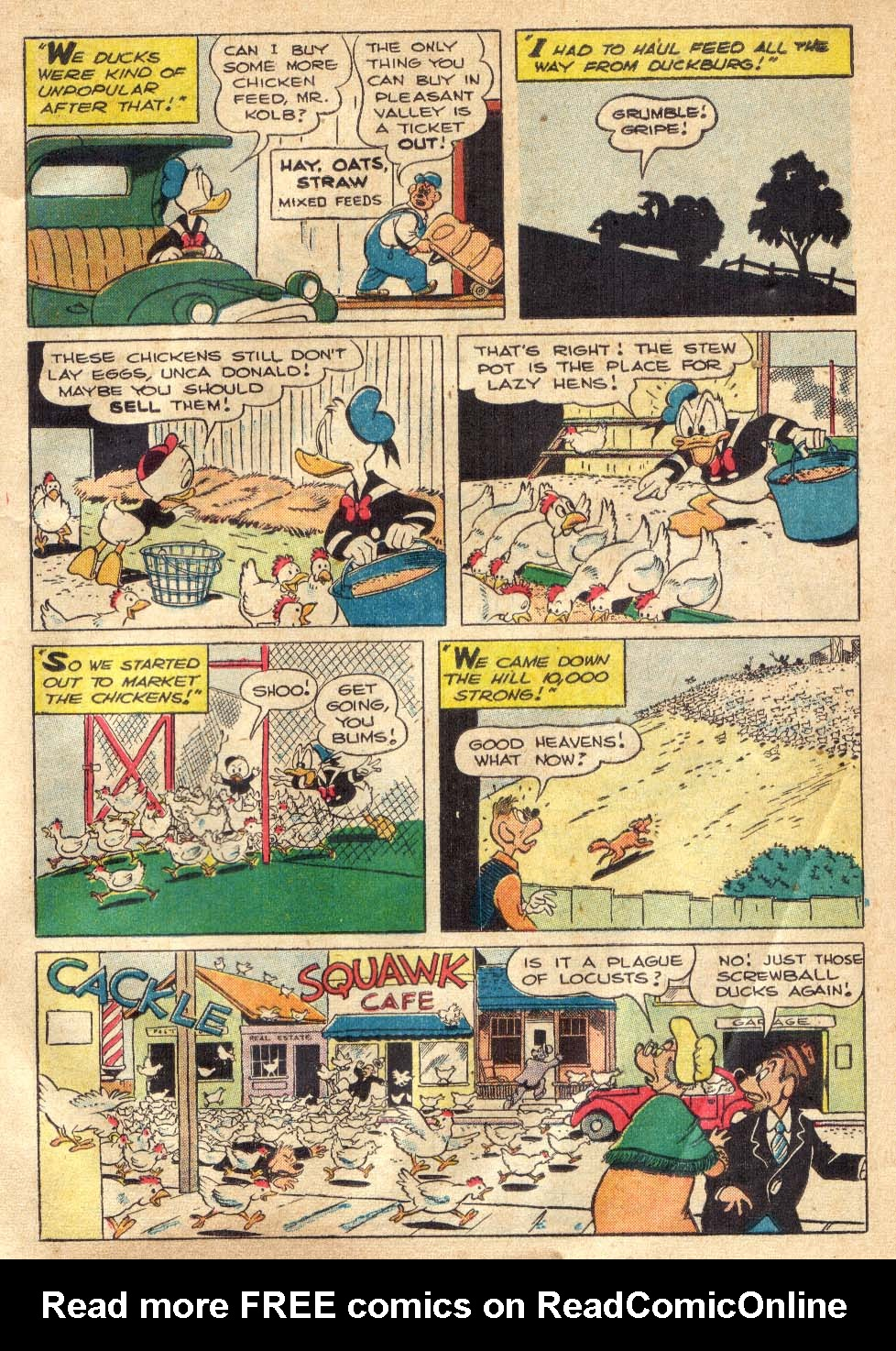 Walt Disney's Comics and Stories issue 146 - Page 7