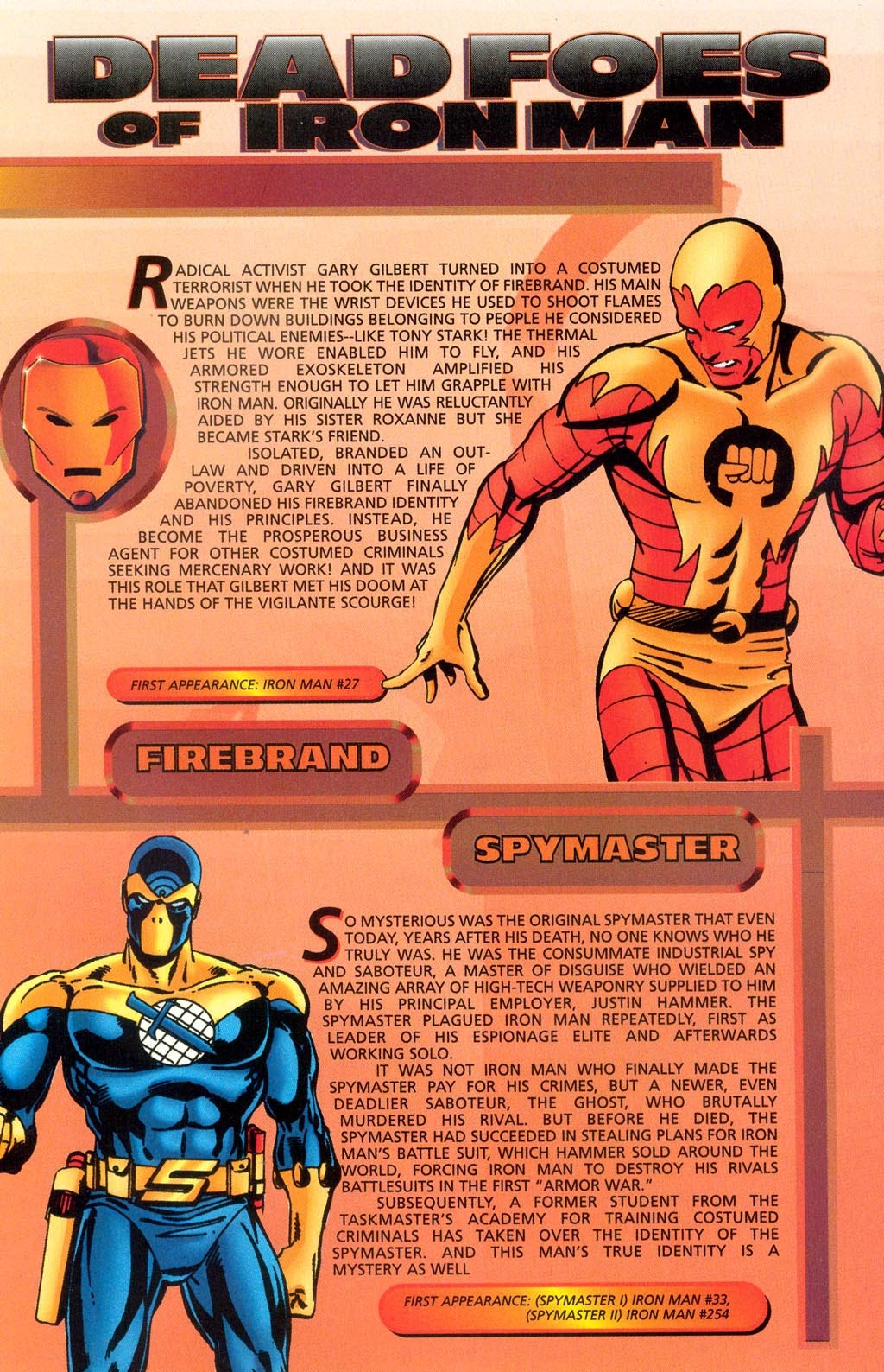 Read online Iron Man: The Legend comic -  Issue # Full - 31