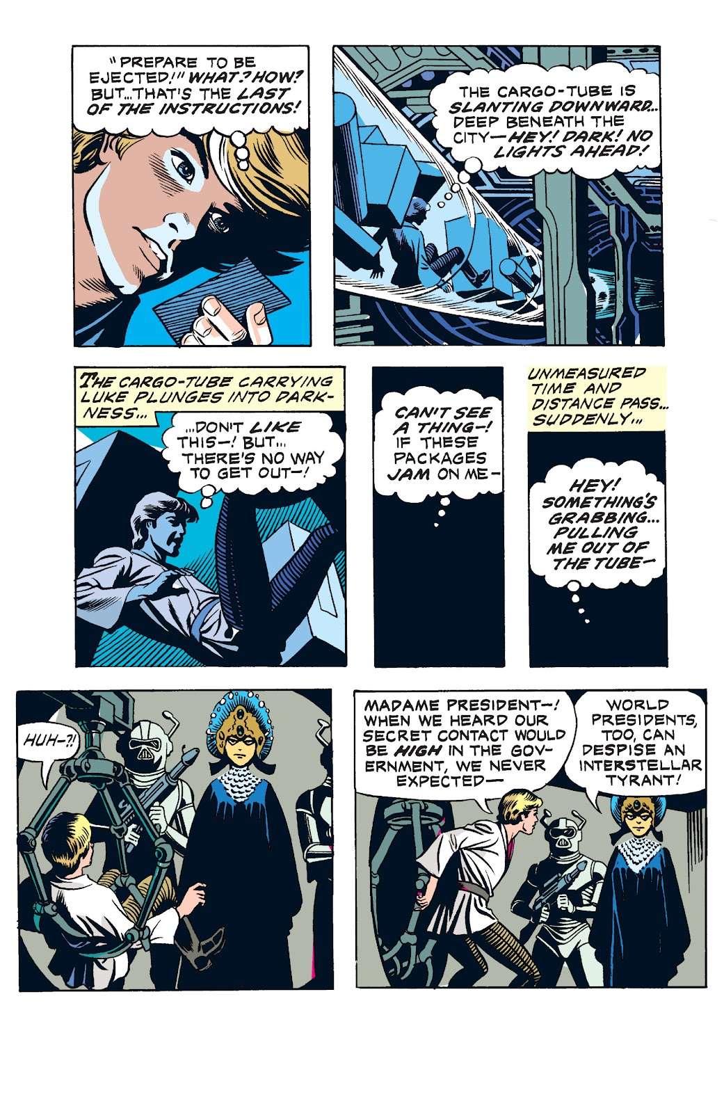 Read online Star Wars Legends: The Newspaper Strips - Epic Collection comic -  Issue # TPB (Part 2) - 3