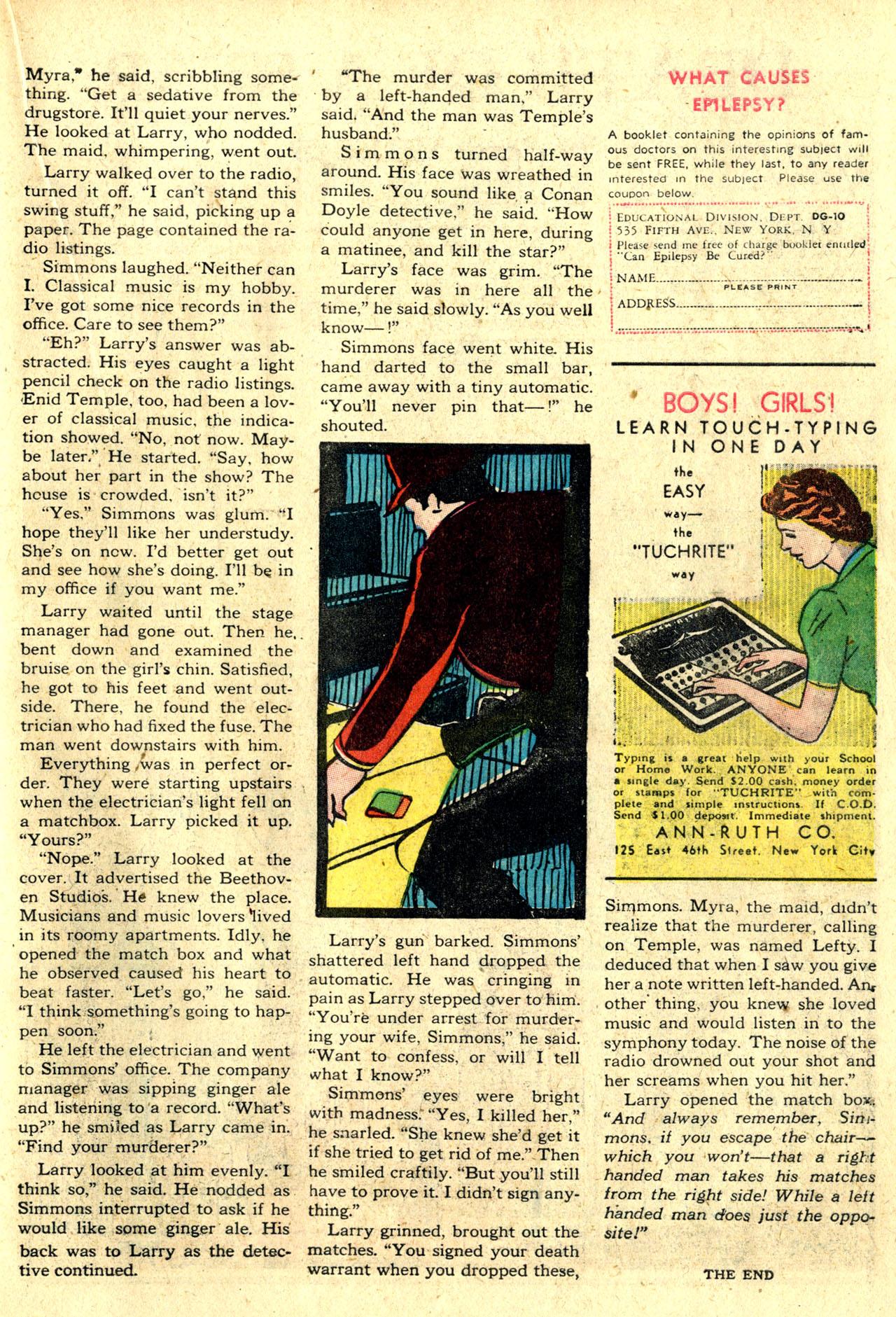 Read online Detective Comics (1937) comic -  Issue #44 - 43