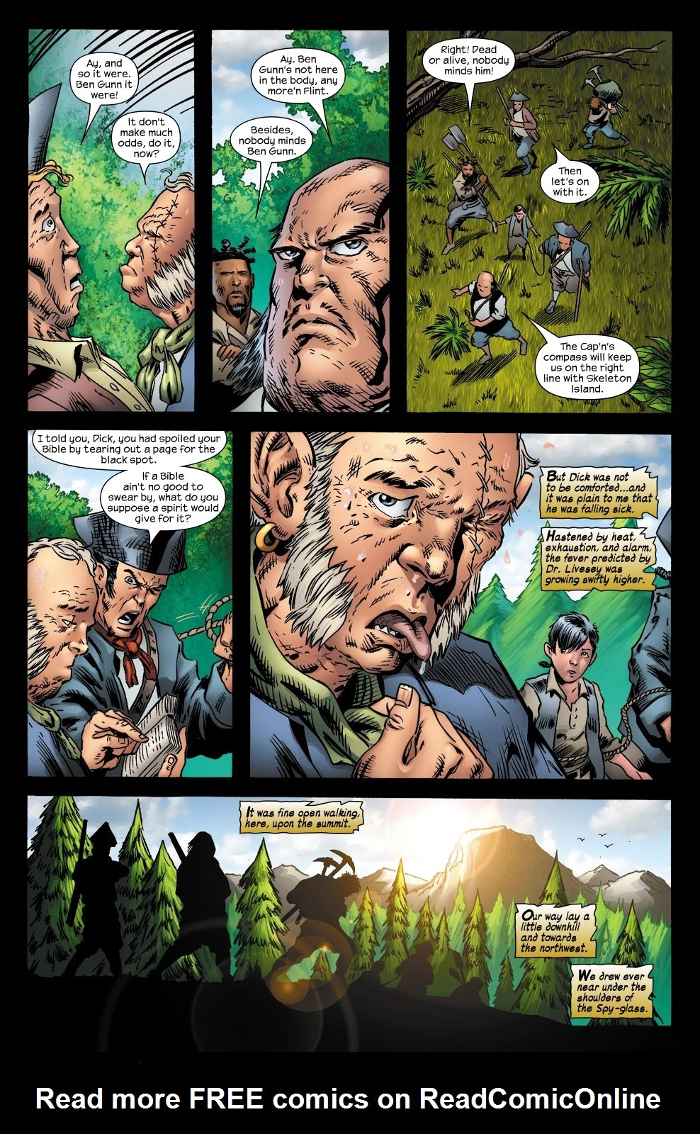 Read online Treasure Island comic -  Issue #6 - 5