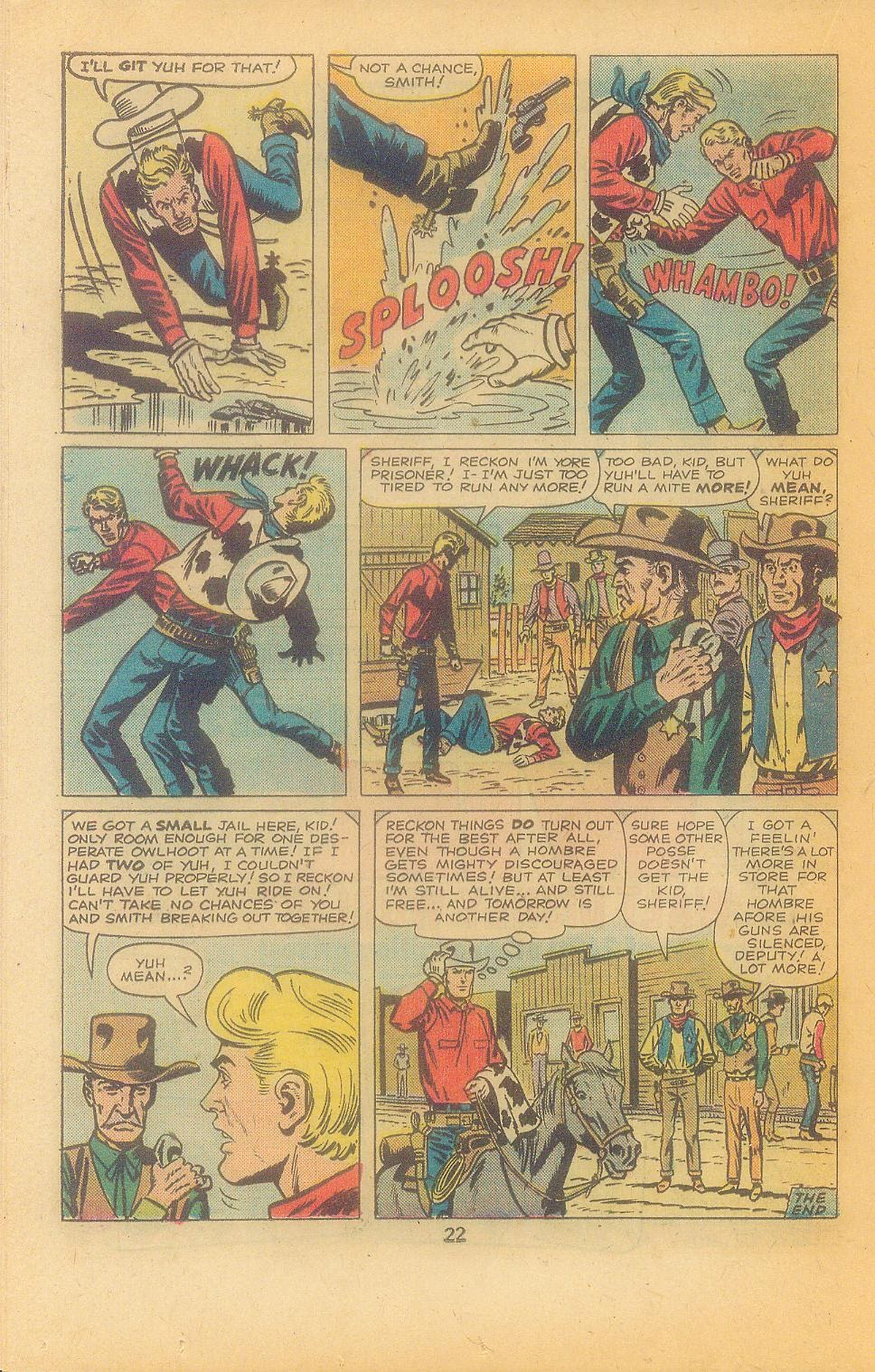 Kid Colt Outlaw issue 197 - Page 24