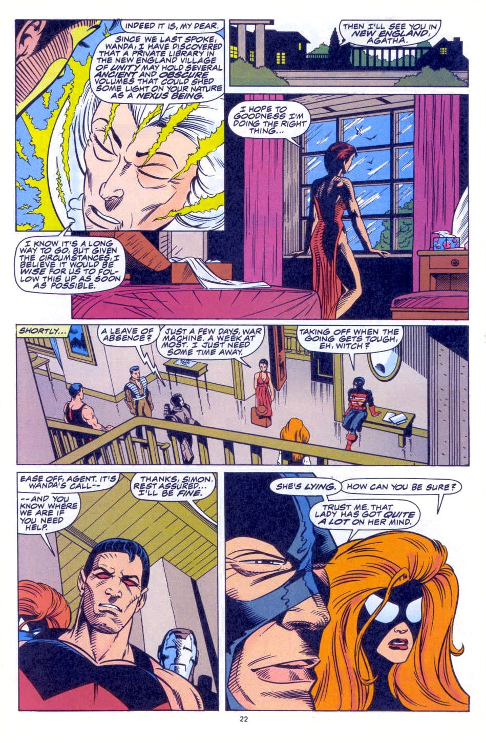 Scarlet Witch (1994) Issue #1 #1 - English 18