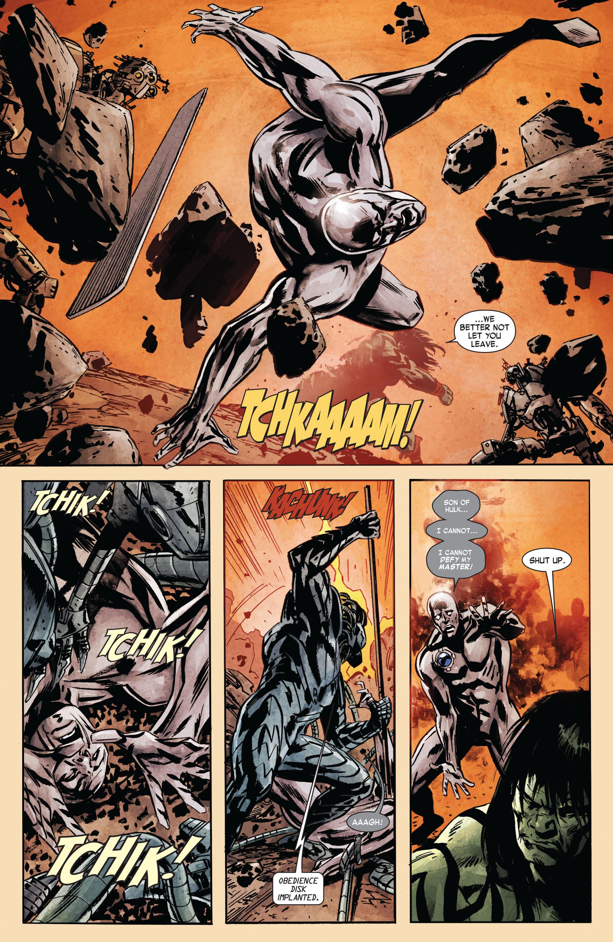 Read online Skaar: Son of Hulk comic -  Issue #7 - 22