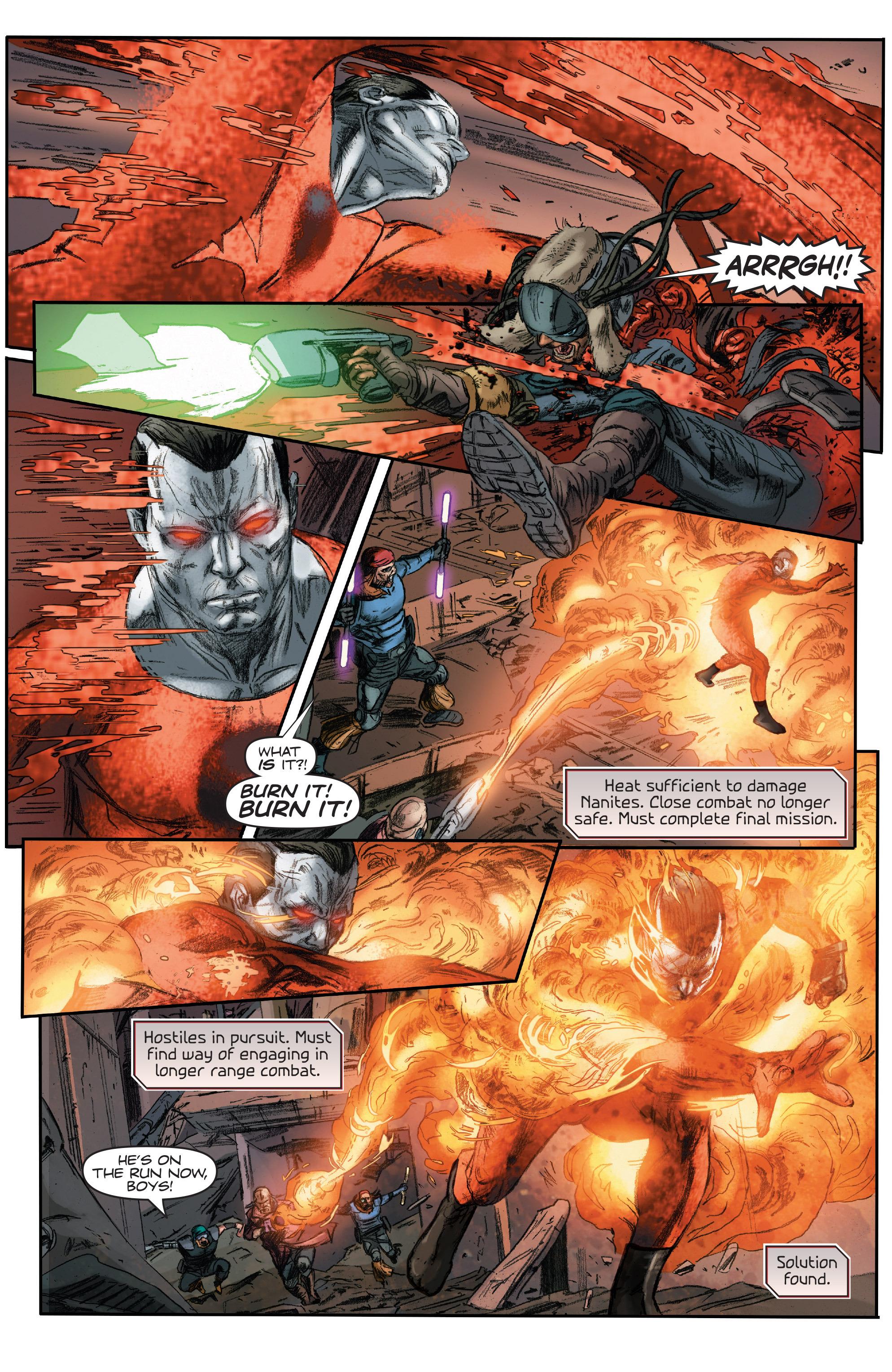 Read online 4001 A.D.: Bloodshot comic -  Issue #4001 A.D.: Bloodshot Full - 10