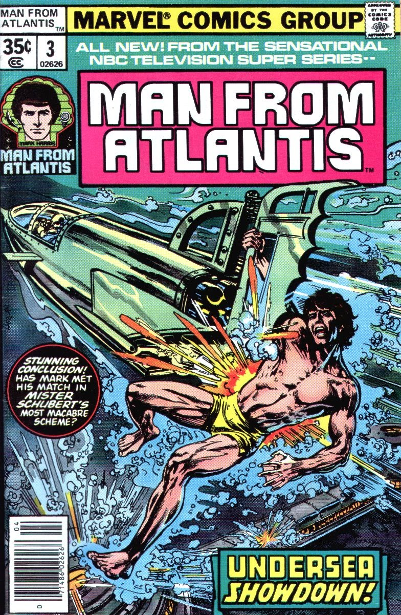 Man from Atlantis issue 3 - Page 1