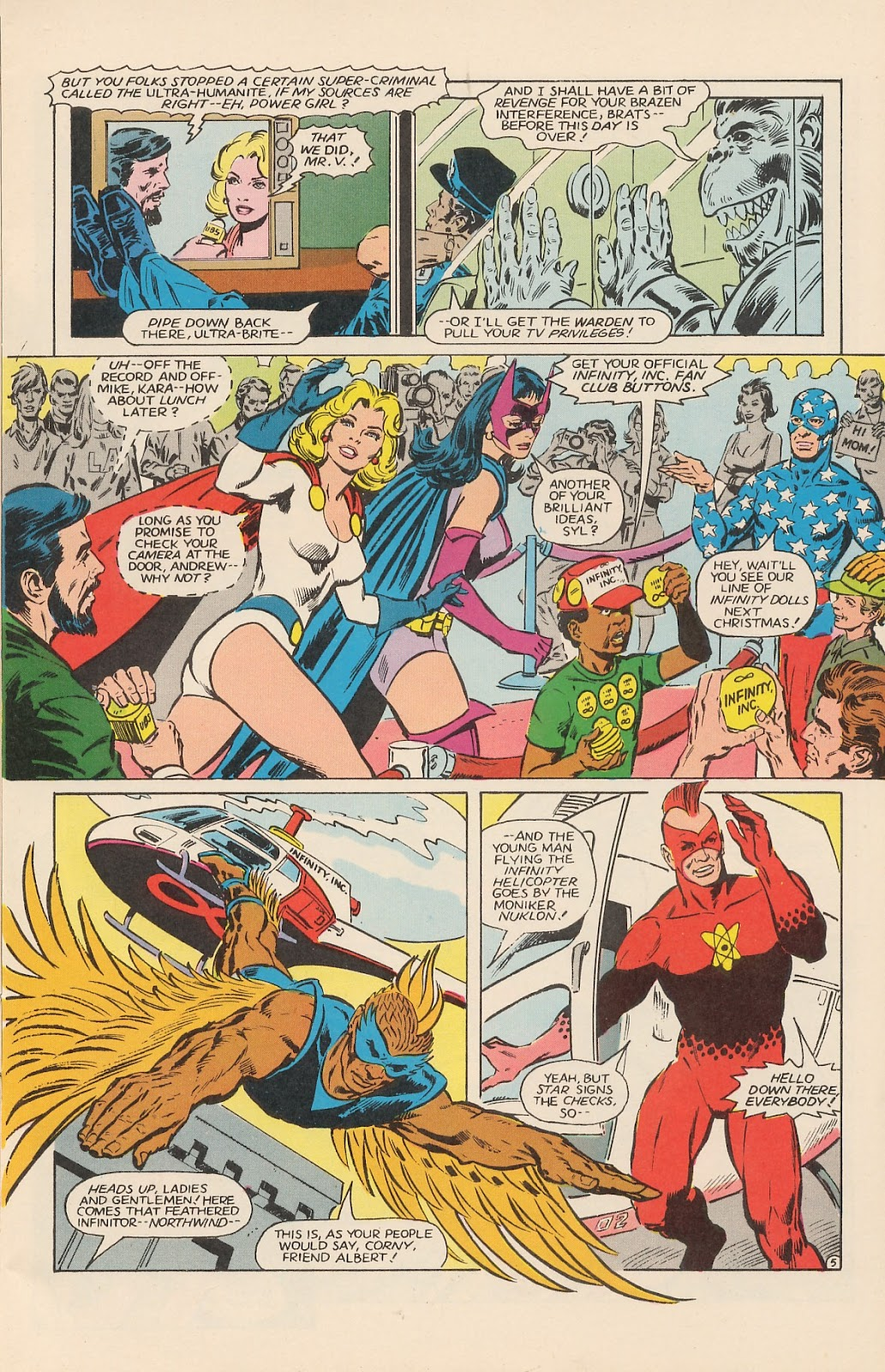 Infinity Inc. (1984) issue 12 - Page 9