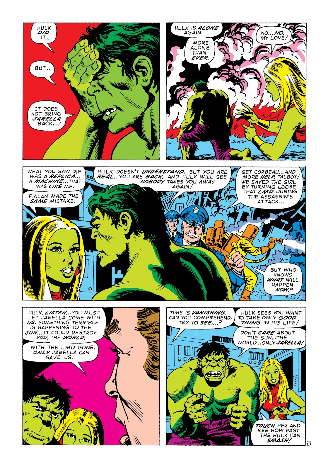 Read online Marvel Masterworks: The Incredible Hulk comic -  Issue # TPB 8 (Part 2) - 6