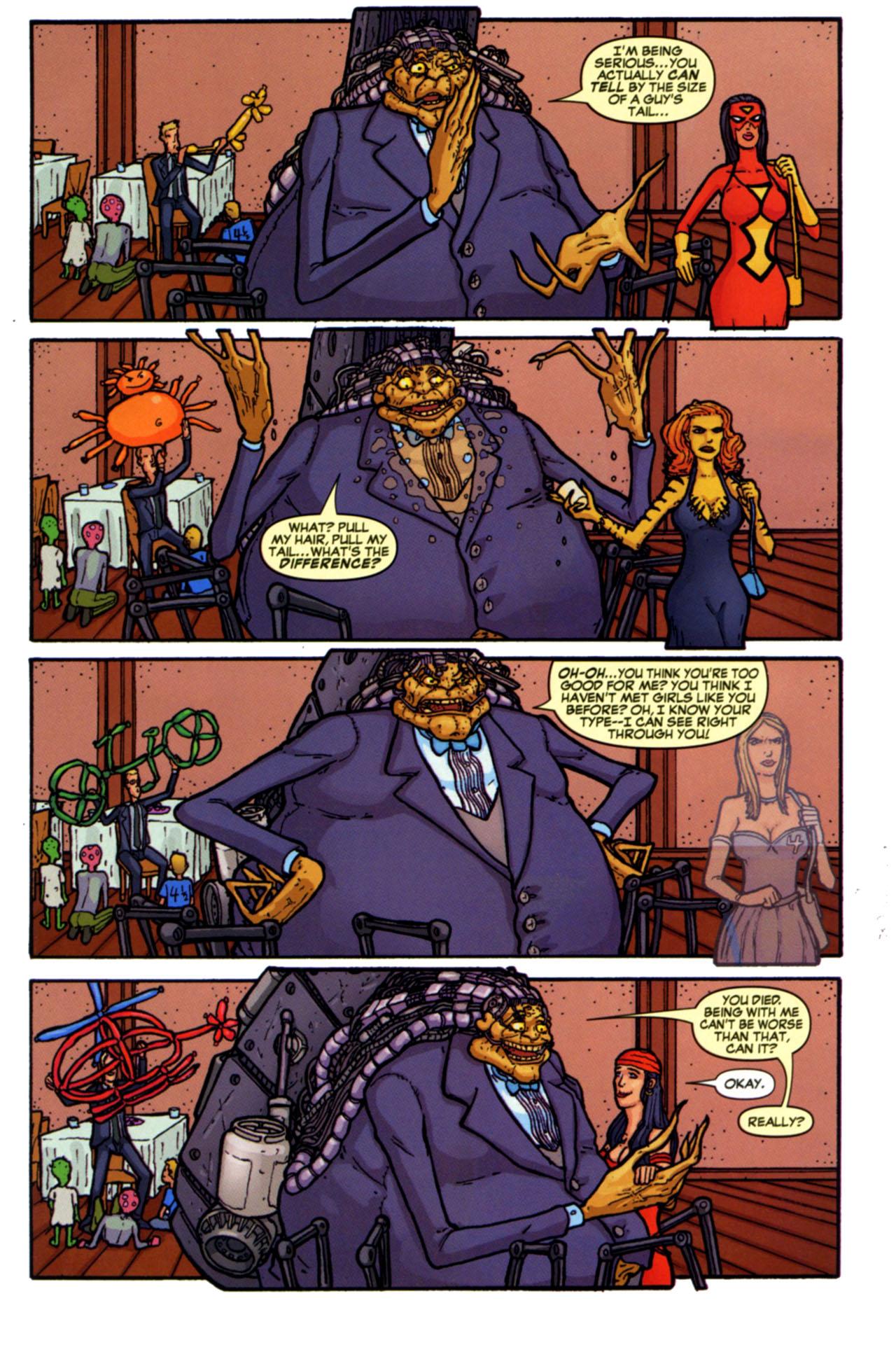 Read online Astonishing Tales (2009) comic -  Issue #4 - 31