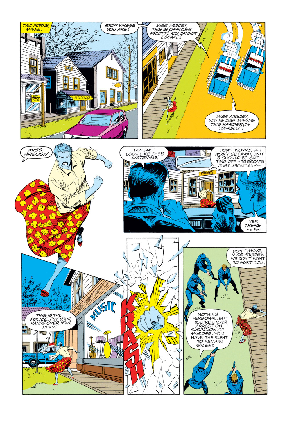 Read online X-Factor (1986) comic -  Issue #79 - 6
