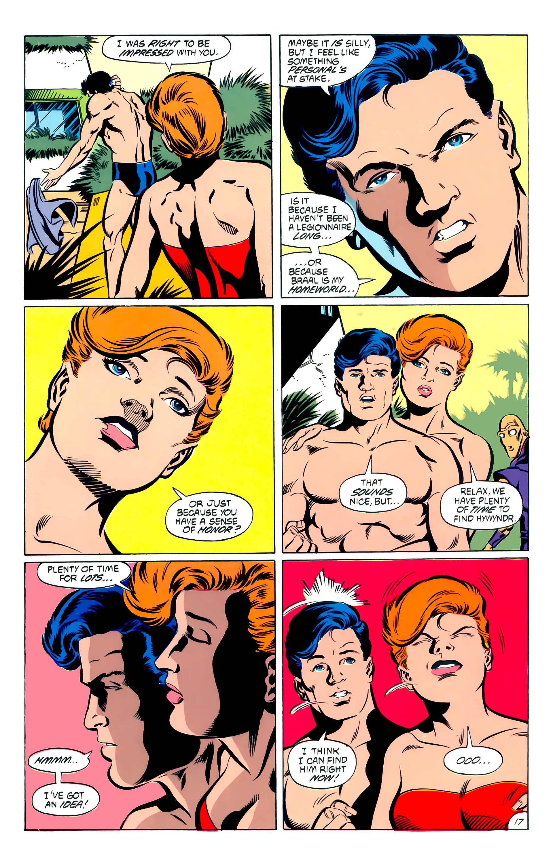 Legion of Super-Heroes (1984) 53 Page 17