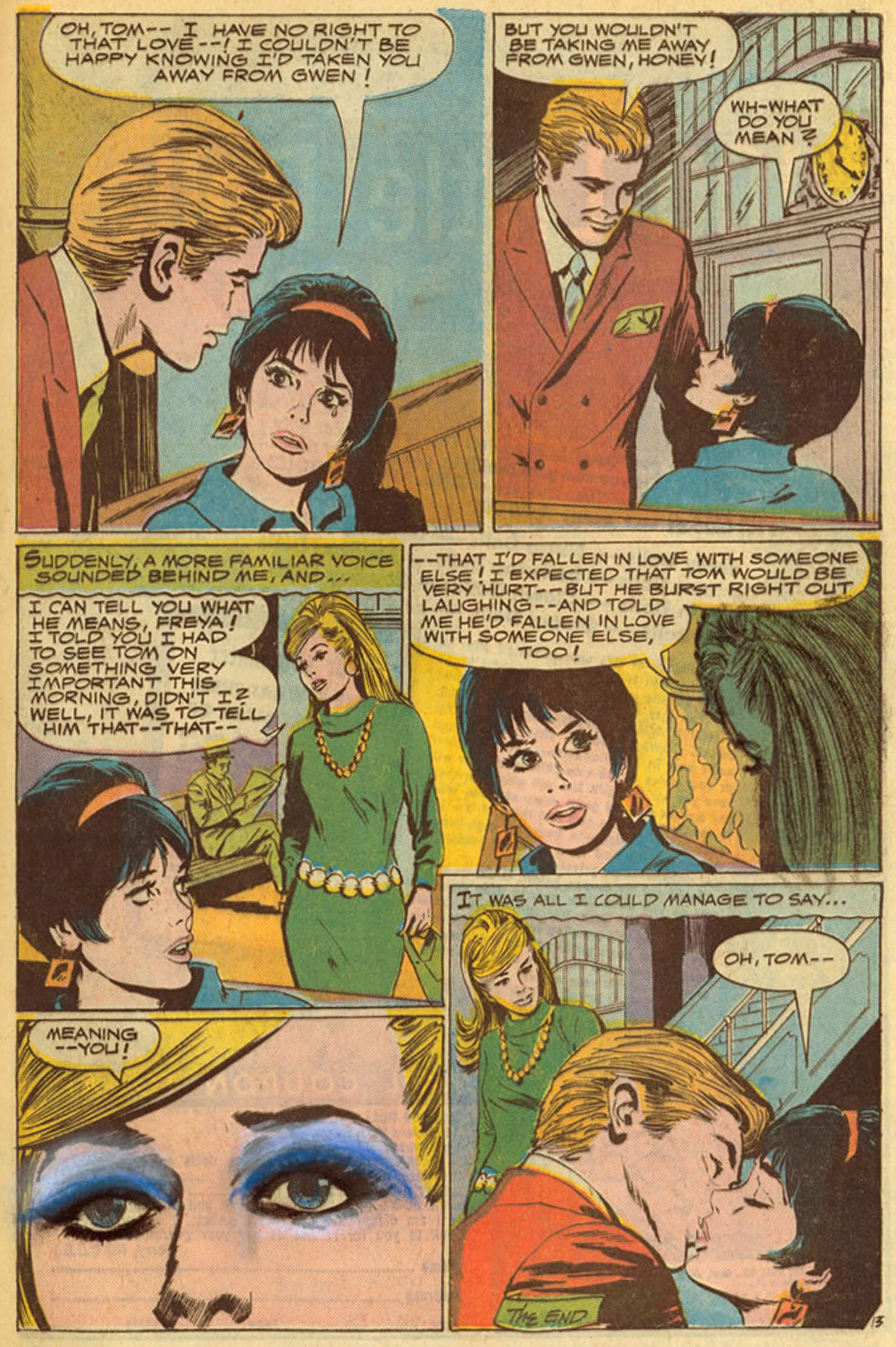Read online Secret Hearts comic -  Issue #139 - 33