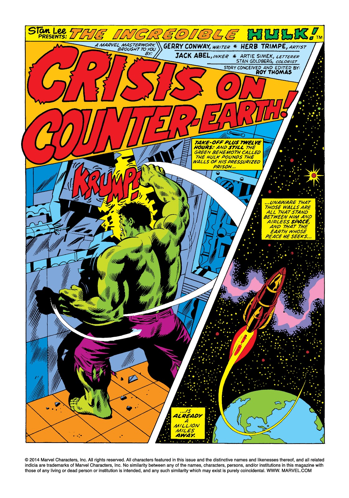 Read online Marvel Masterworks: The Incredible Hulk comic -  Issue # TPB 10 (Part 2) - 9