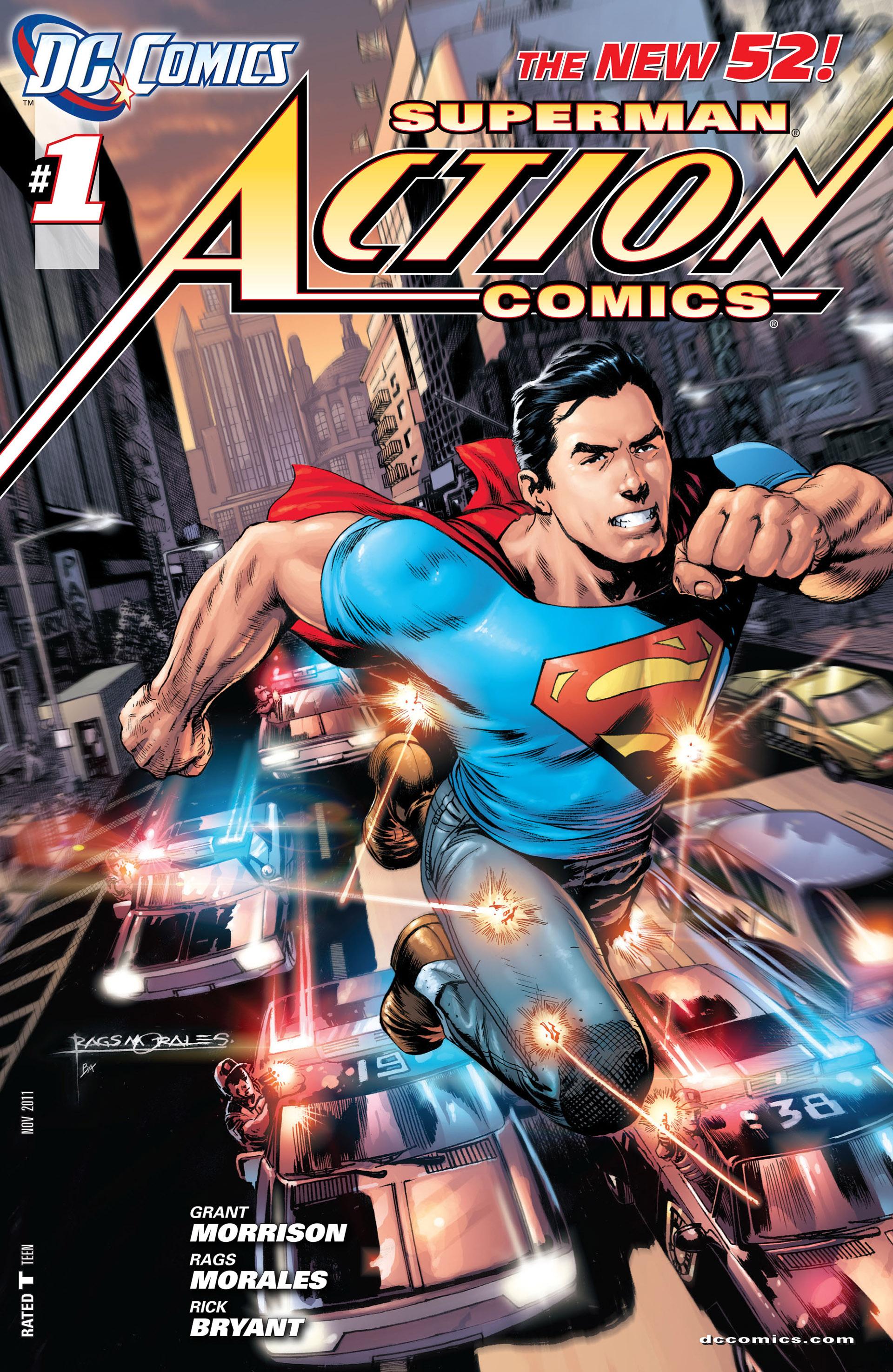 Action Comics (2011) 1 Page 1