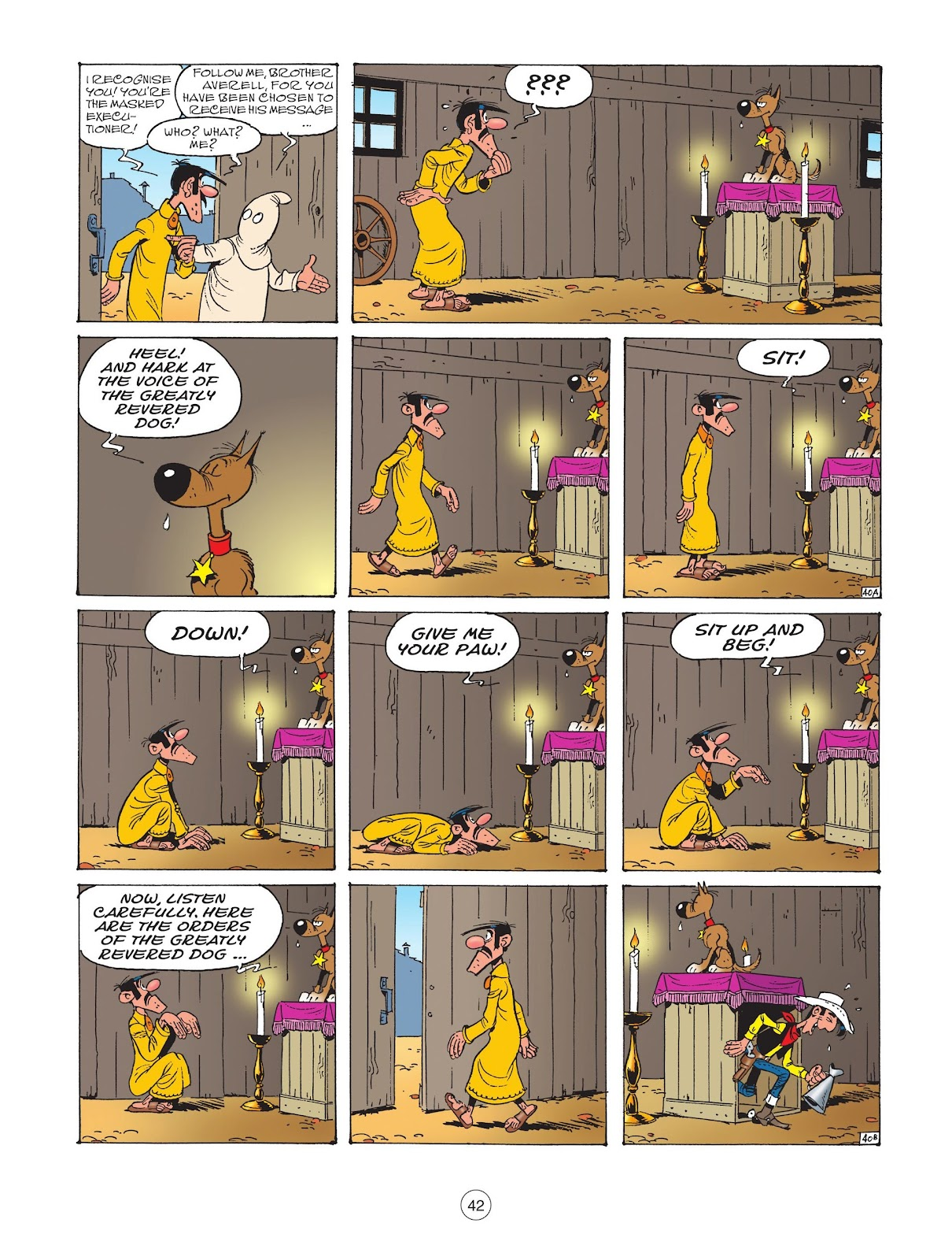 A Lucky Luke Adventure issue 73 - Page 44