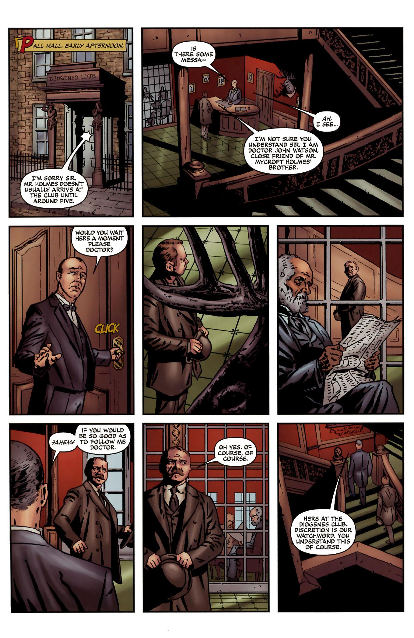 Read online Sherlock Holmes (2009) comic -  Issue #3 - 24