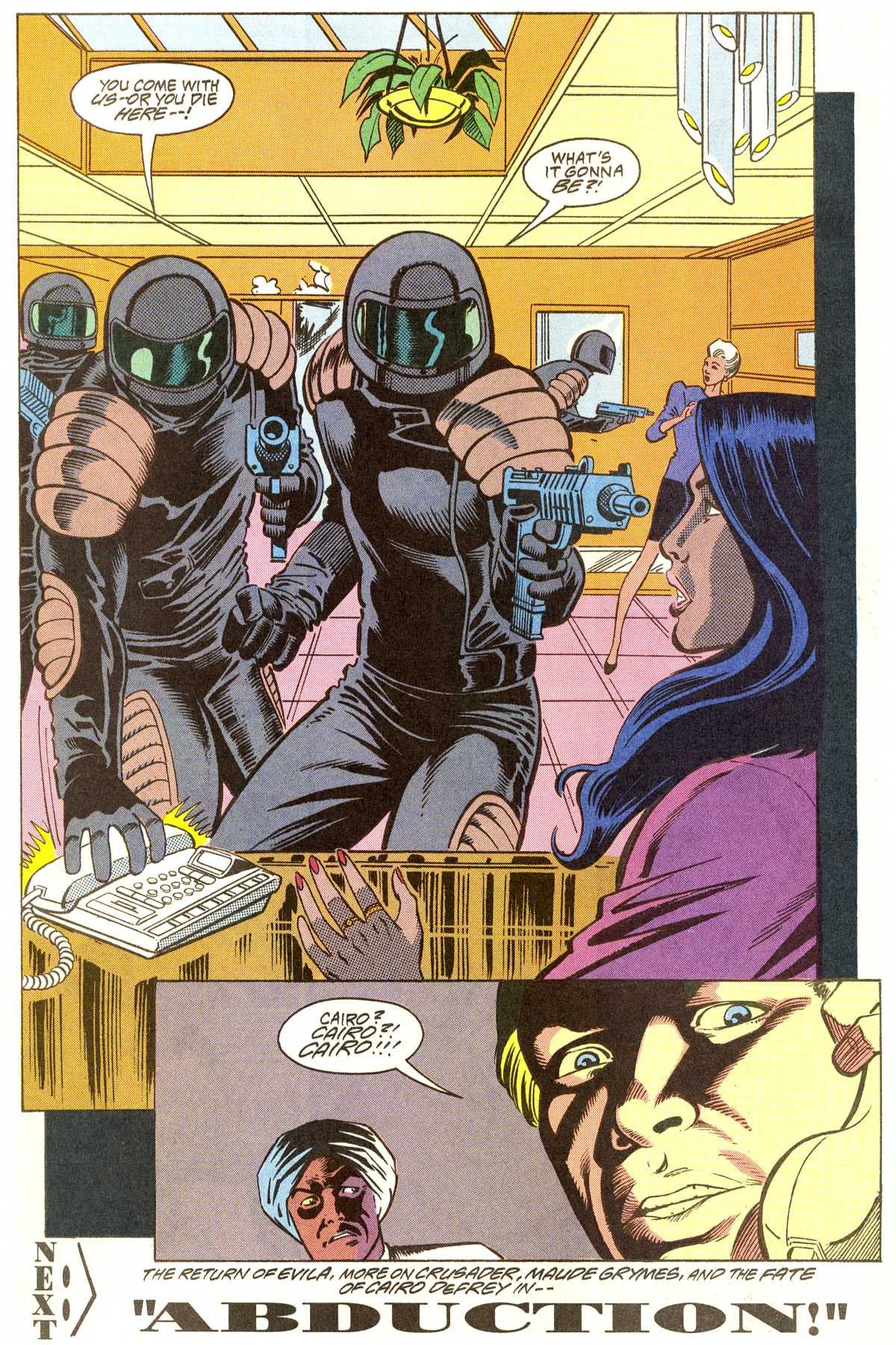 Read online Peter Cannon--Thunderbolt (1992) comic -  Issue #7 - 23