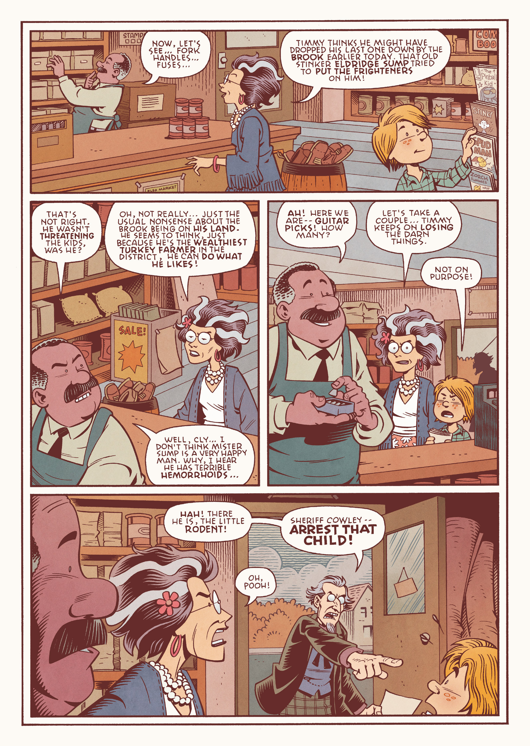 Read online Jim Henson's The Musical Monsters of Turkey Hollow comic -  Issue # Full - 22