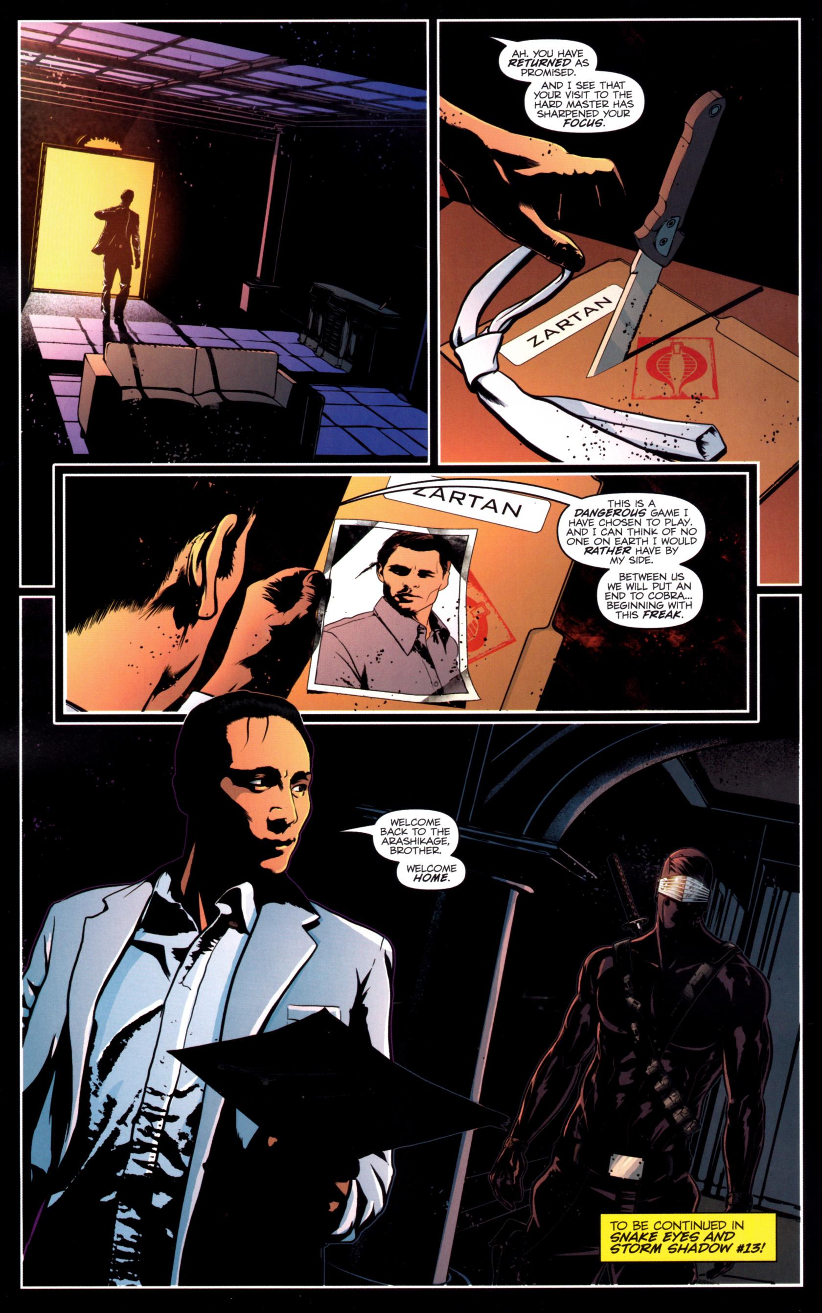 Read online G.I. Joe: Snake Eyes comic -  Issue #12 - 25